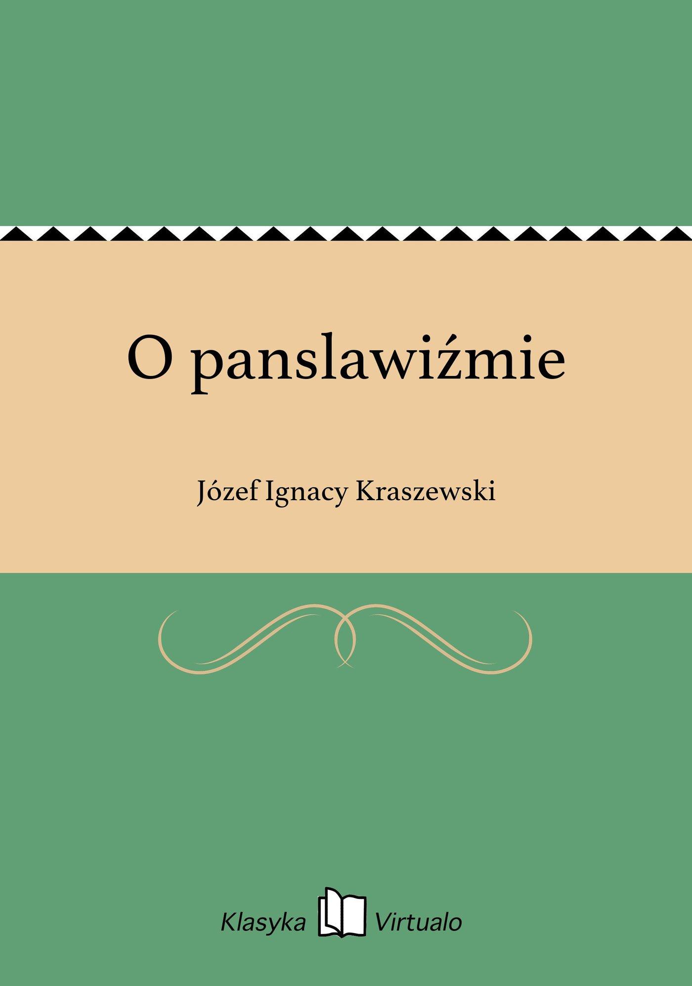 O panslawiźmie - Ebook (Książka EPUB) do pobrania w formacie EPUB