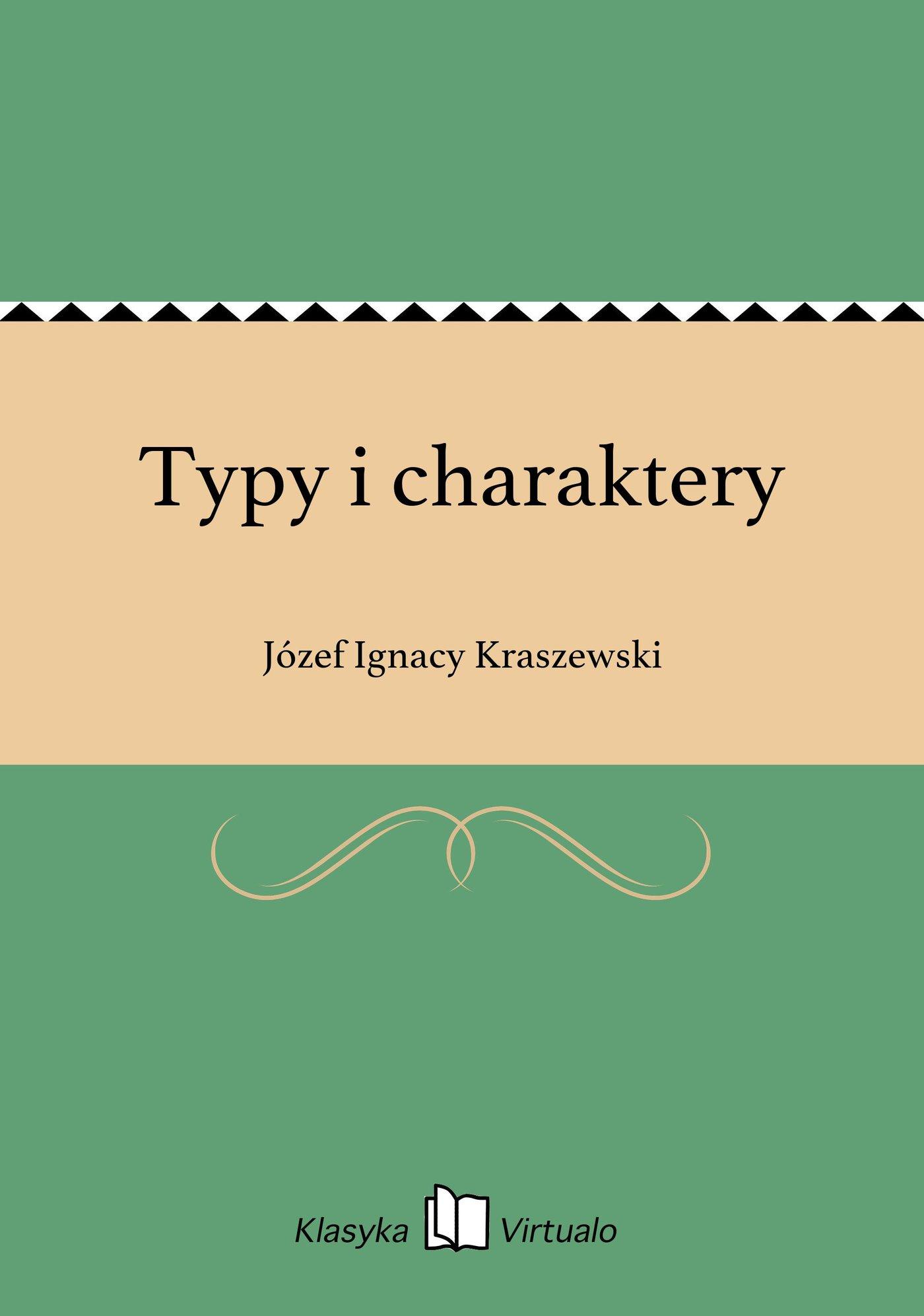 Typy i charaktery - Ebook (Książka EPUB) do pobrania w formacie EPUB