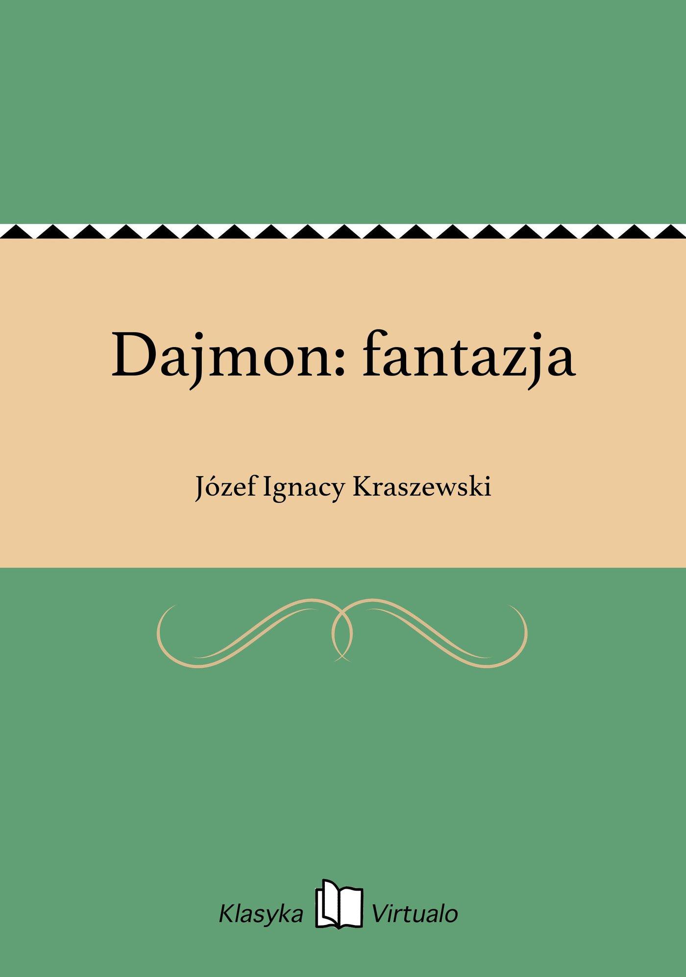 Dajmon: fantazja - Ebook (Książka EPUB) do pobrania w formacie EPUB