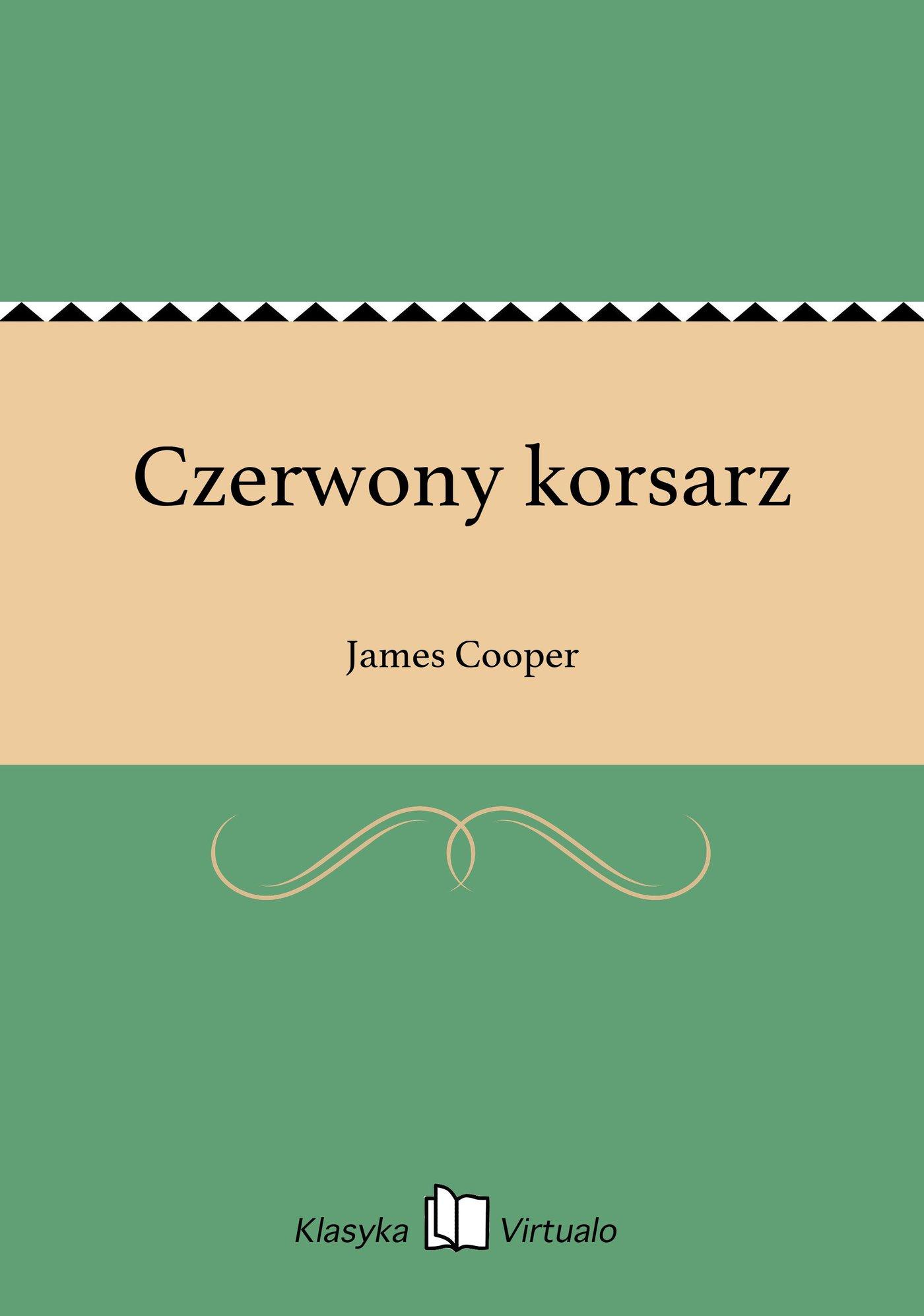 Czerwony korsarz - Ebook (Książka EPUB) do pobrania w formacie EPUB