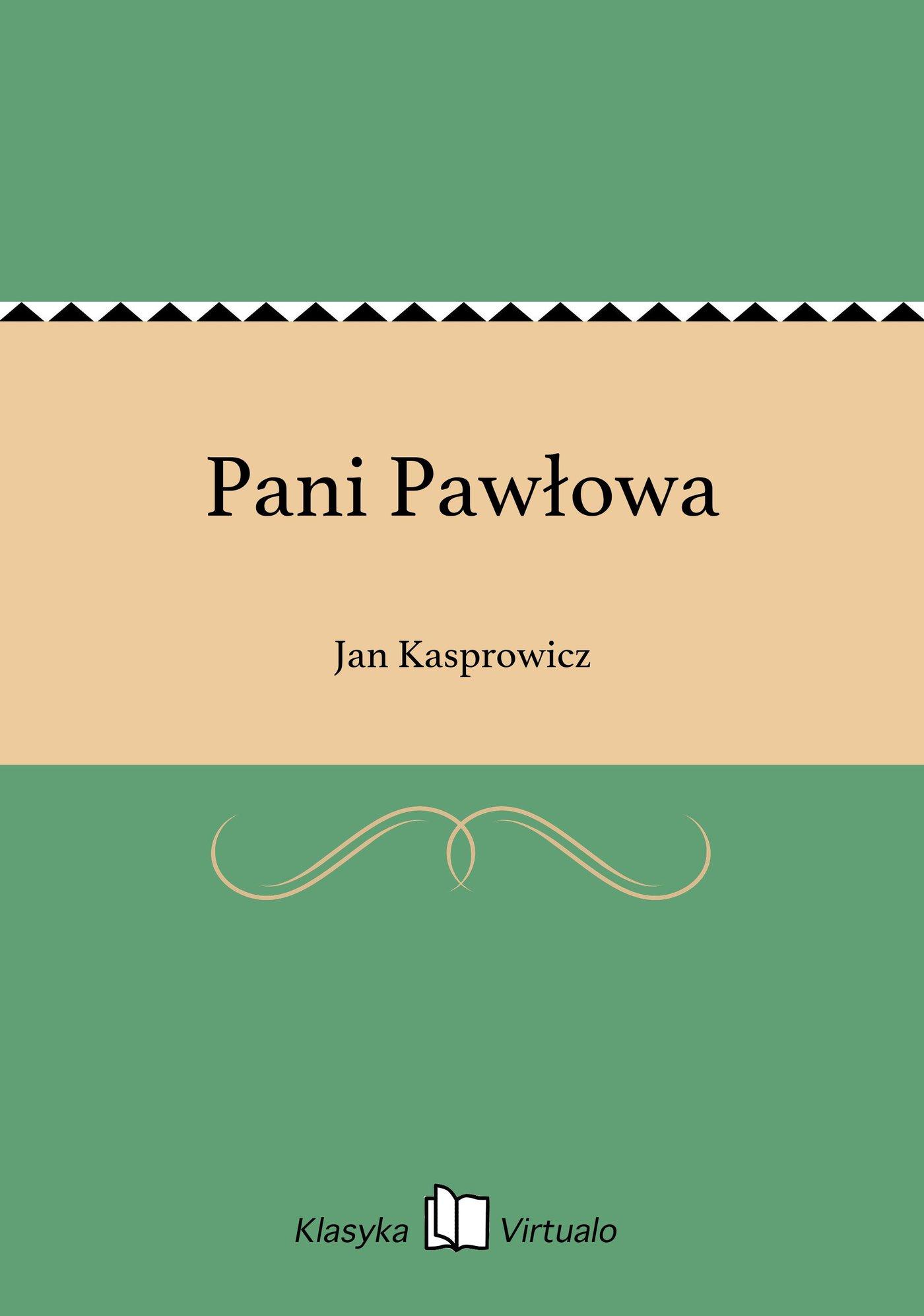 Pani Pawłowa - Ebook (Książka EPUB) do pobrania w formacie EPUB