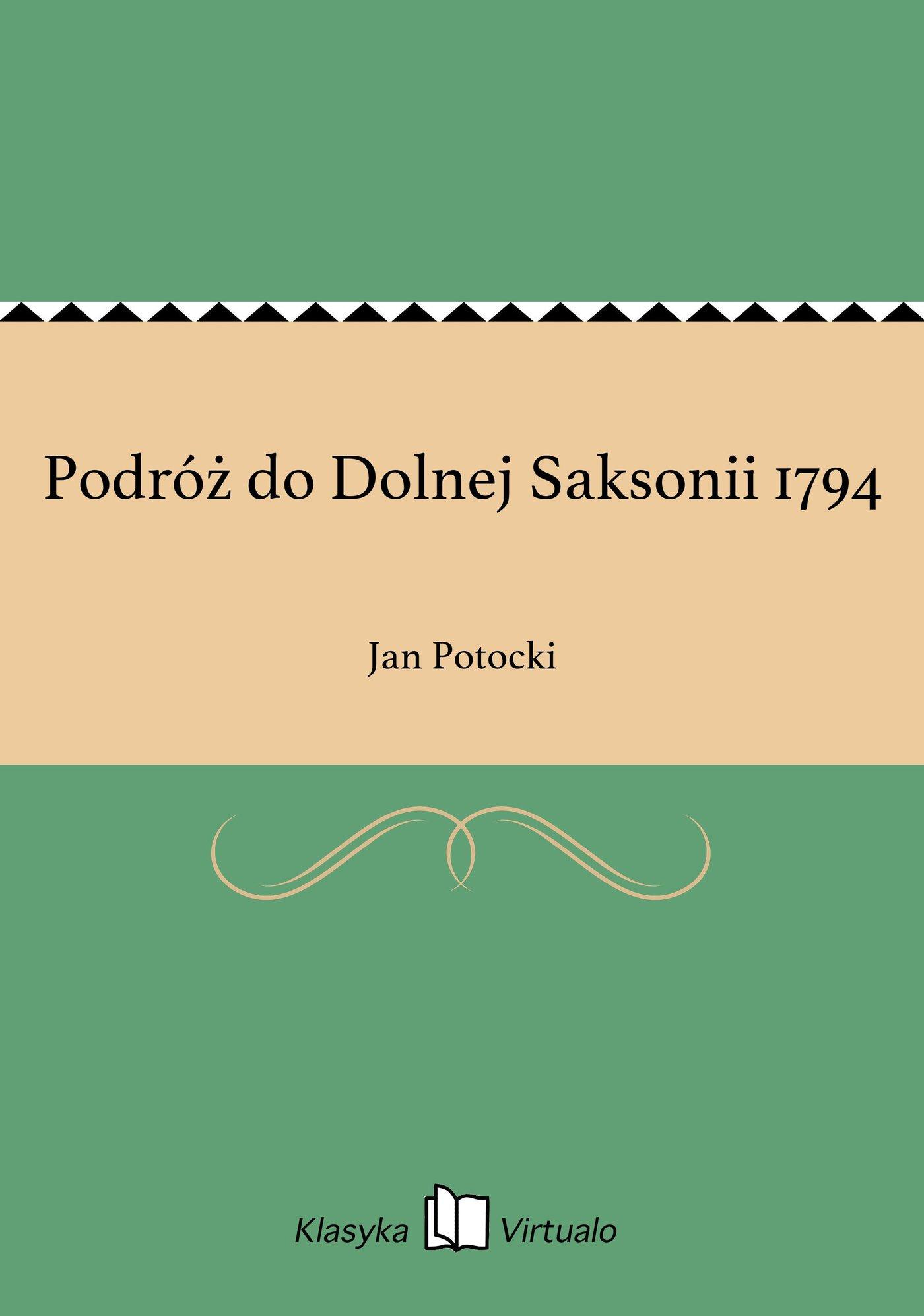 Podróż do Dolnej Saksonii 1794 - Ebook (Książka EPUB) do pobrania w formacie EPUB