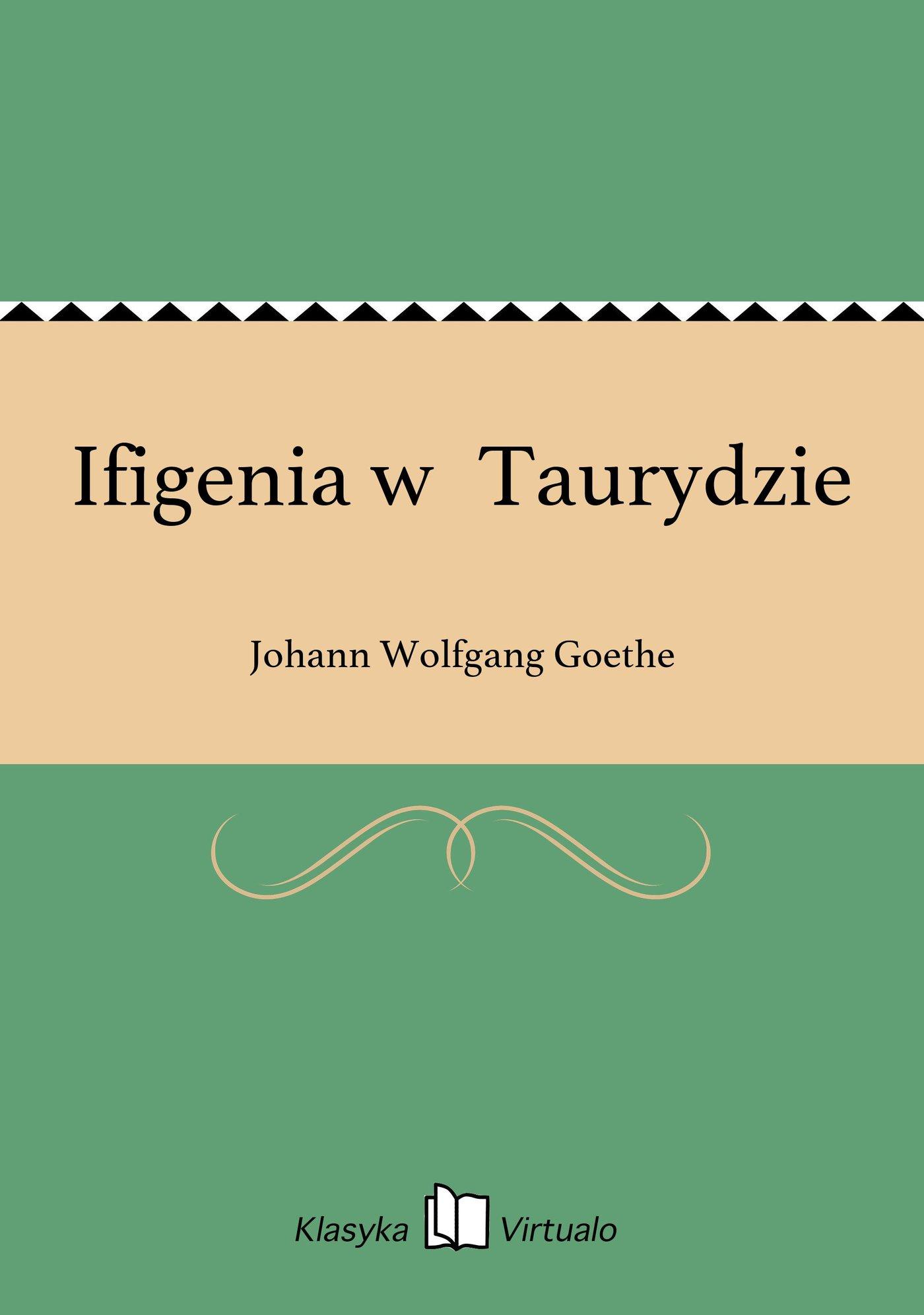 Ifigenia wTaurydzie - Ebook (Książka EPUB) do pobrania w formacie EPUB
