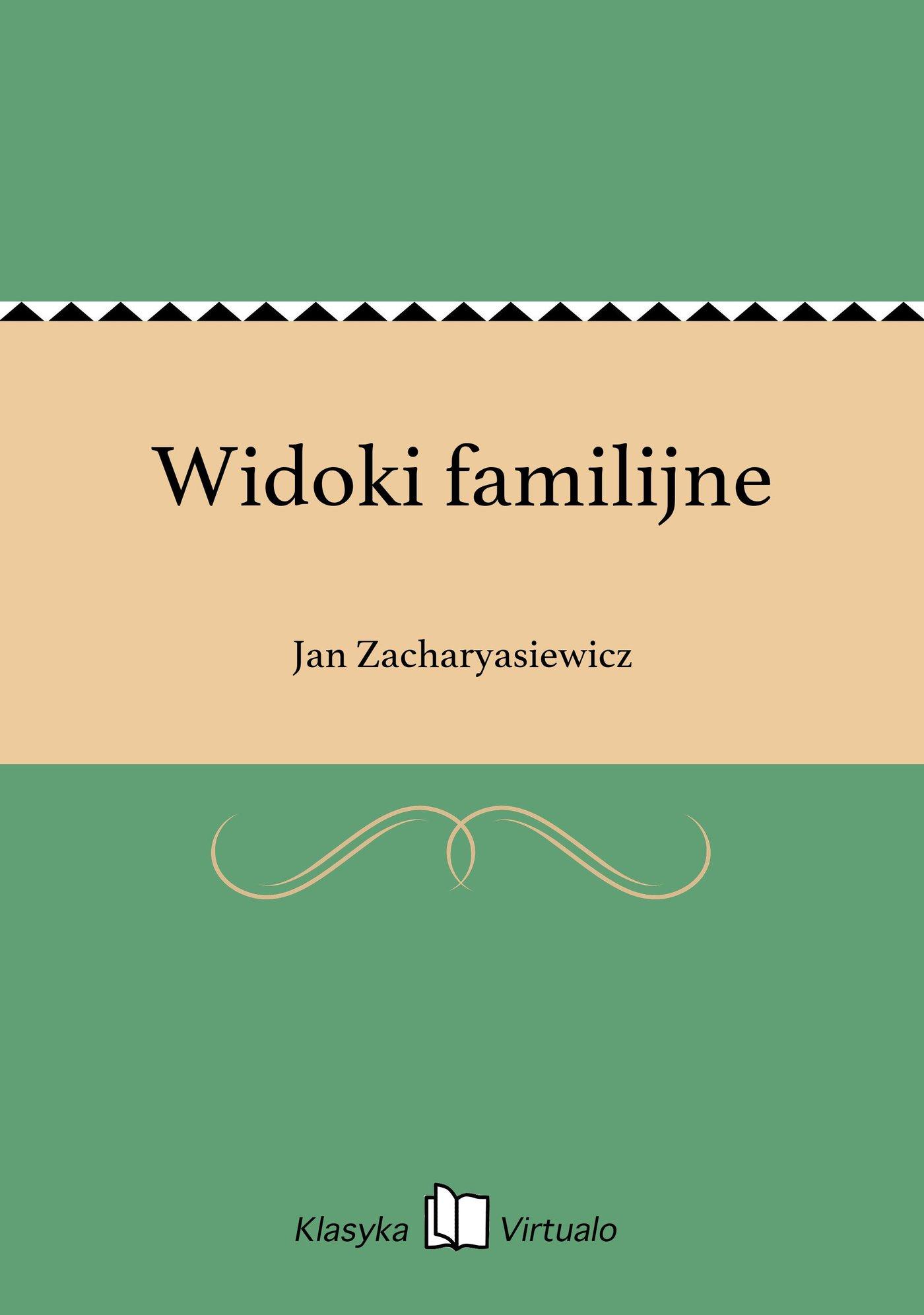 Widoki familijne - Ebook (Książka EPUB) do pobrania w formacie EPUB