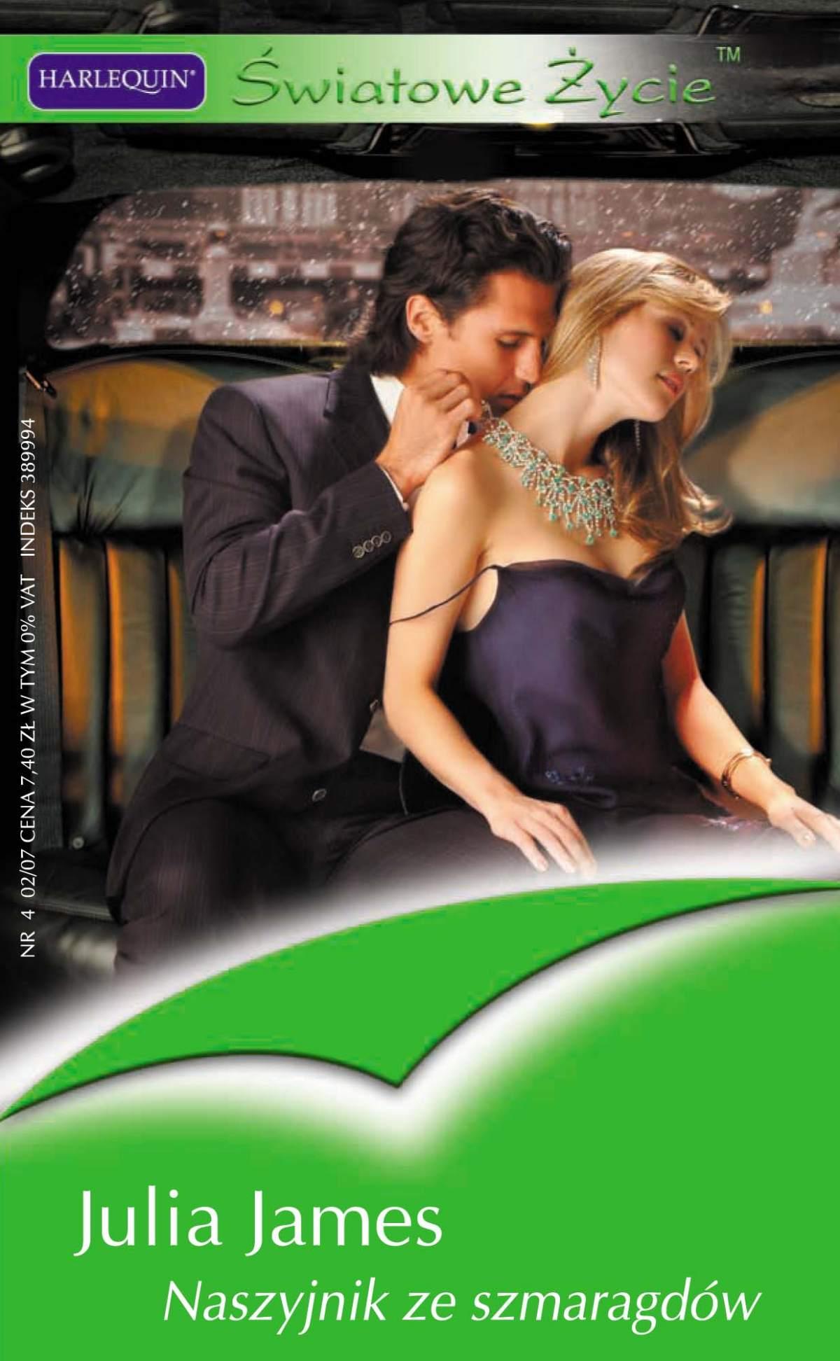 Naszyjnik ze szmaragdów - Ebook (Książka EPUB) do pobrania w formacie EPUB