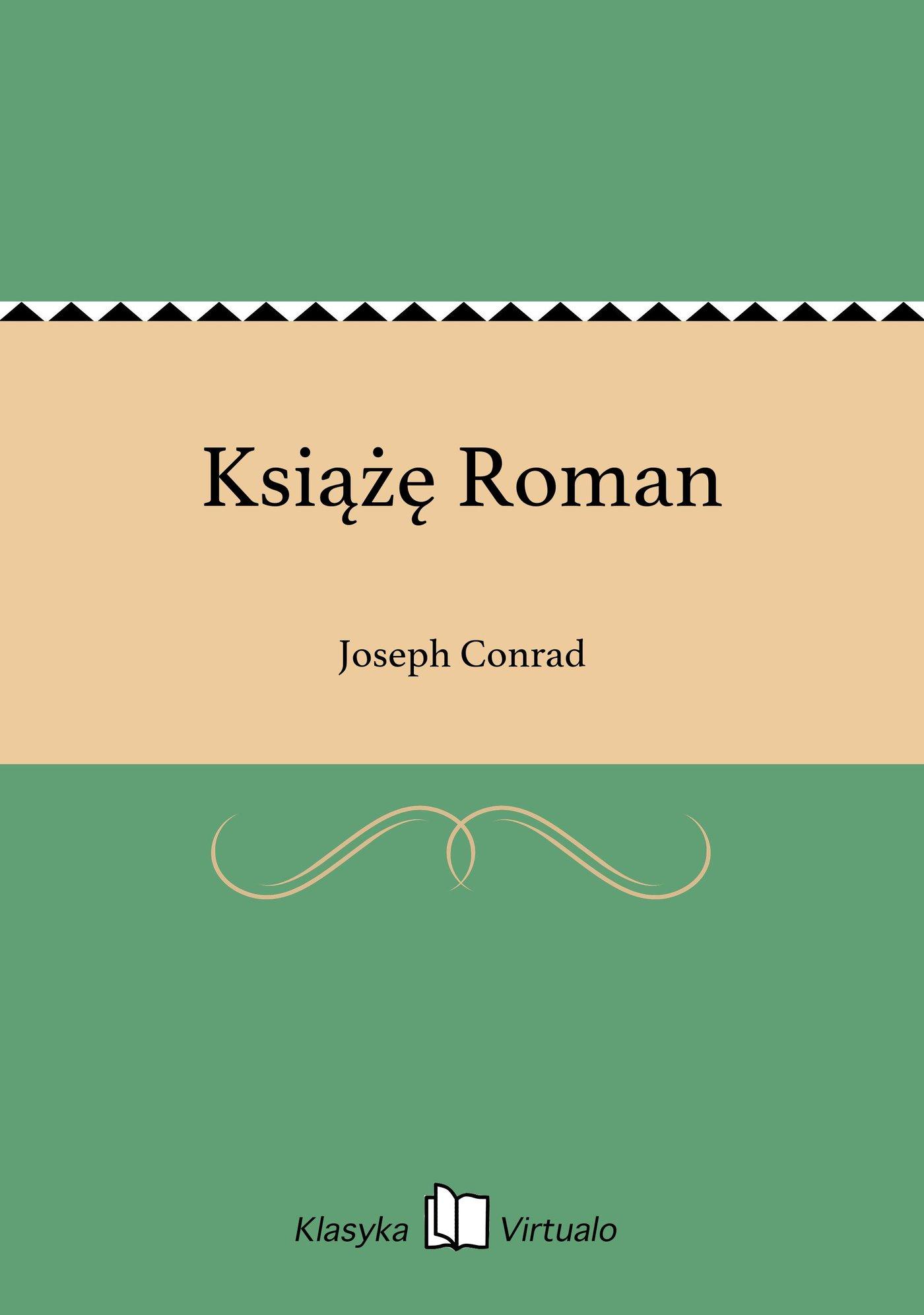 Książę Roman - Ebook (Książka EPUB) do pobrania w formacie EPUB