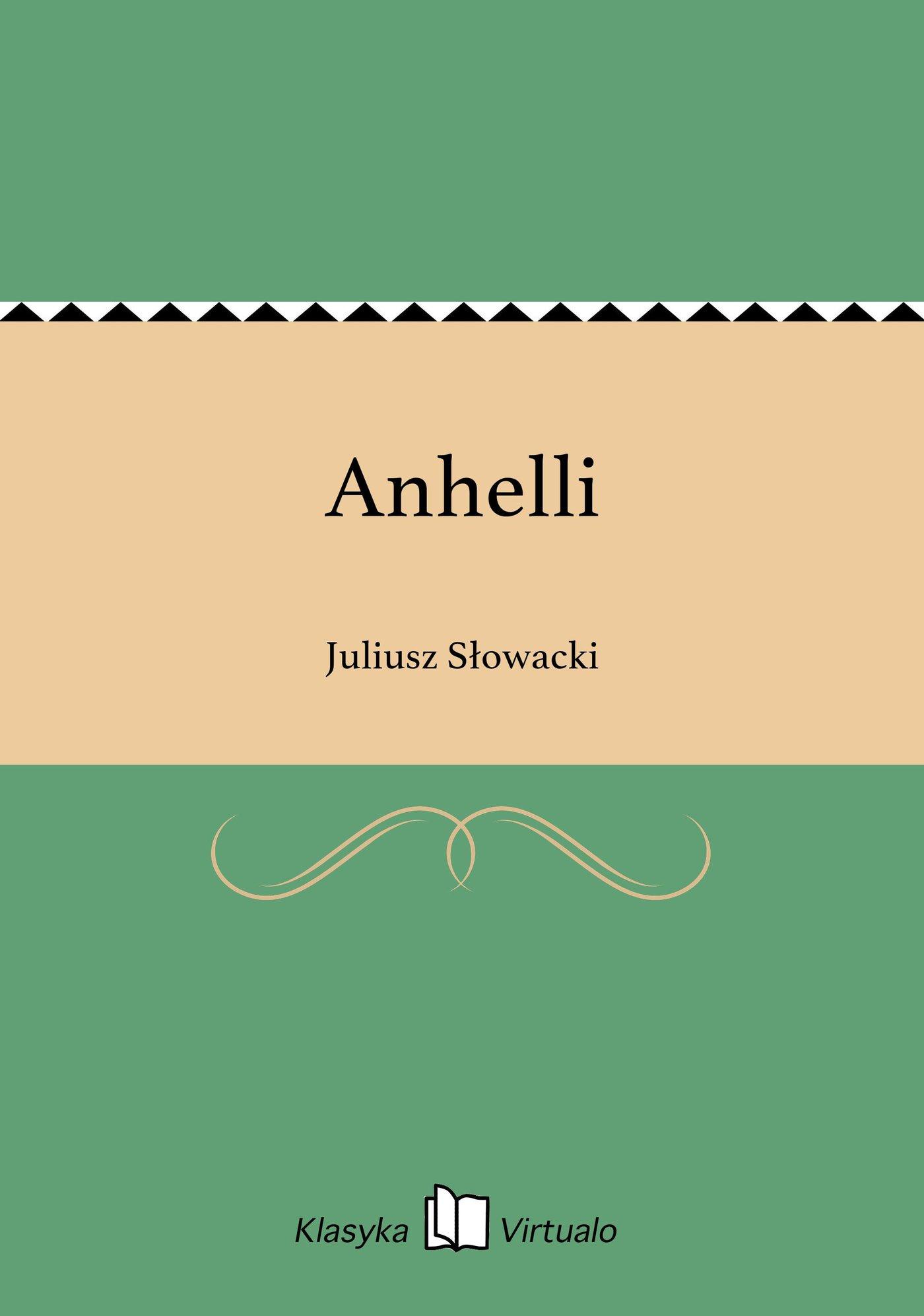 Anhelli - Ebook (Książka EPUB) do pobrania w formacie EPUB