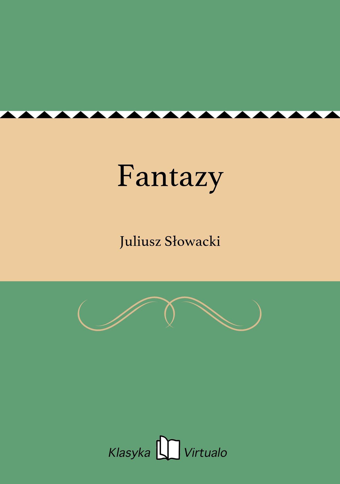 Fantazy - Ebook (Książka EPUB) do pobrania w formacie EPUB