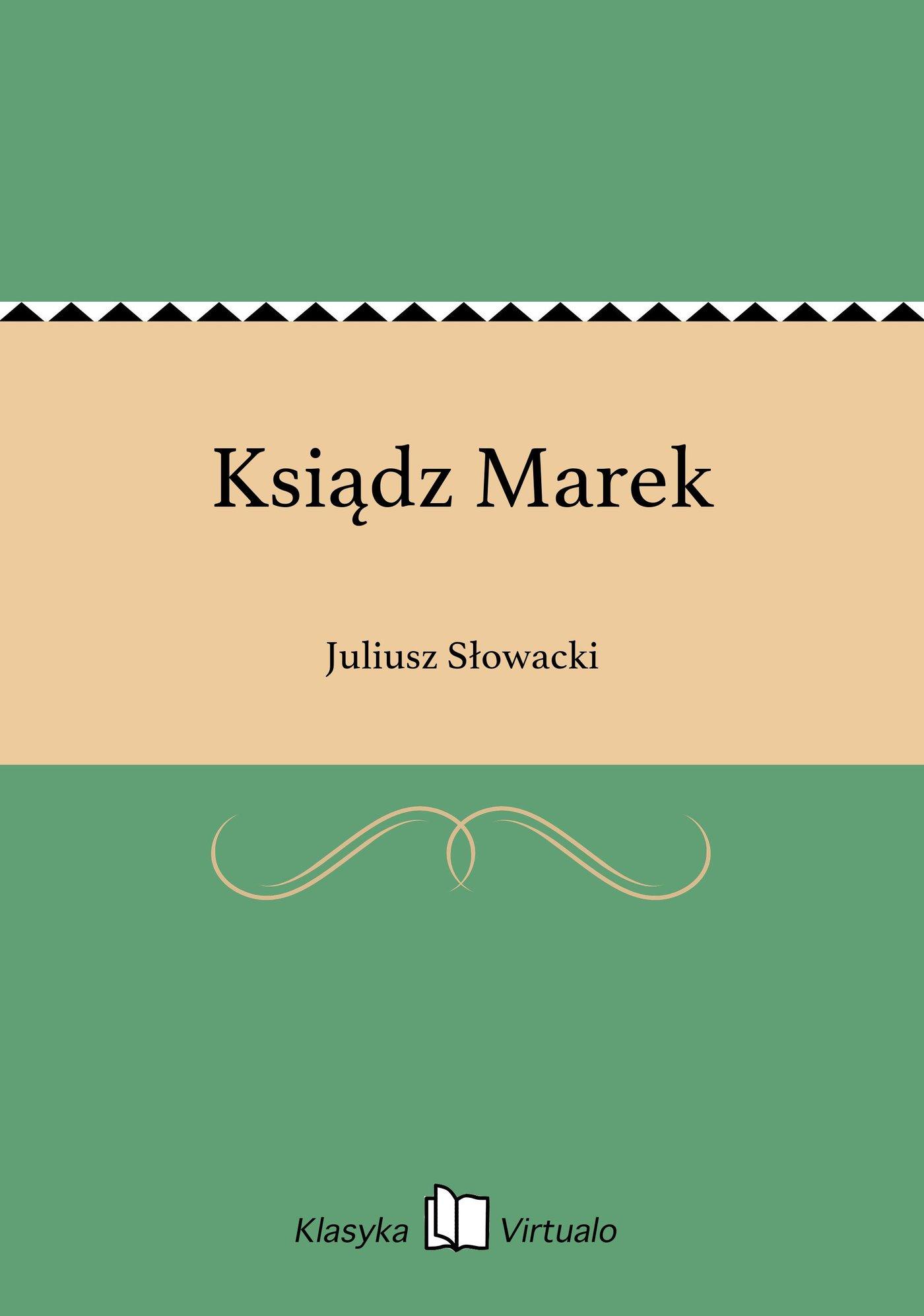 Ksiądz Marek - Ebook (Książka EPUB) do pobrania w formacie EPUB
