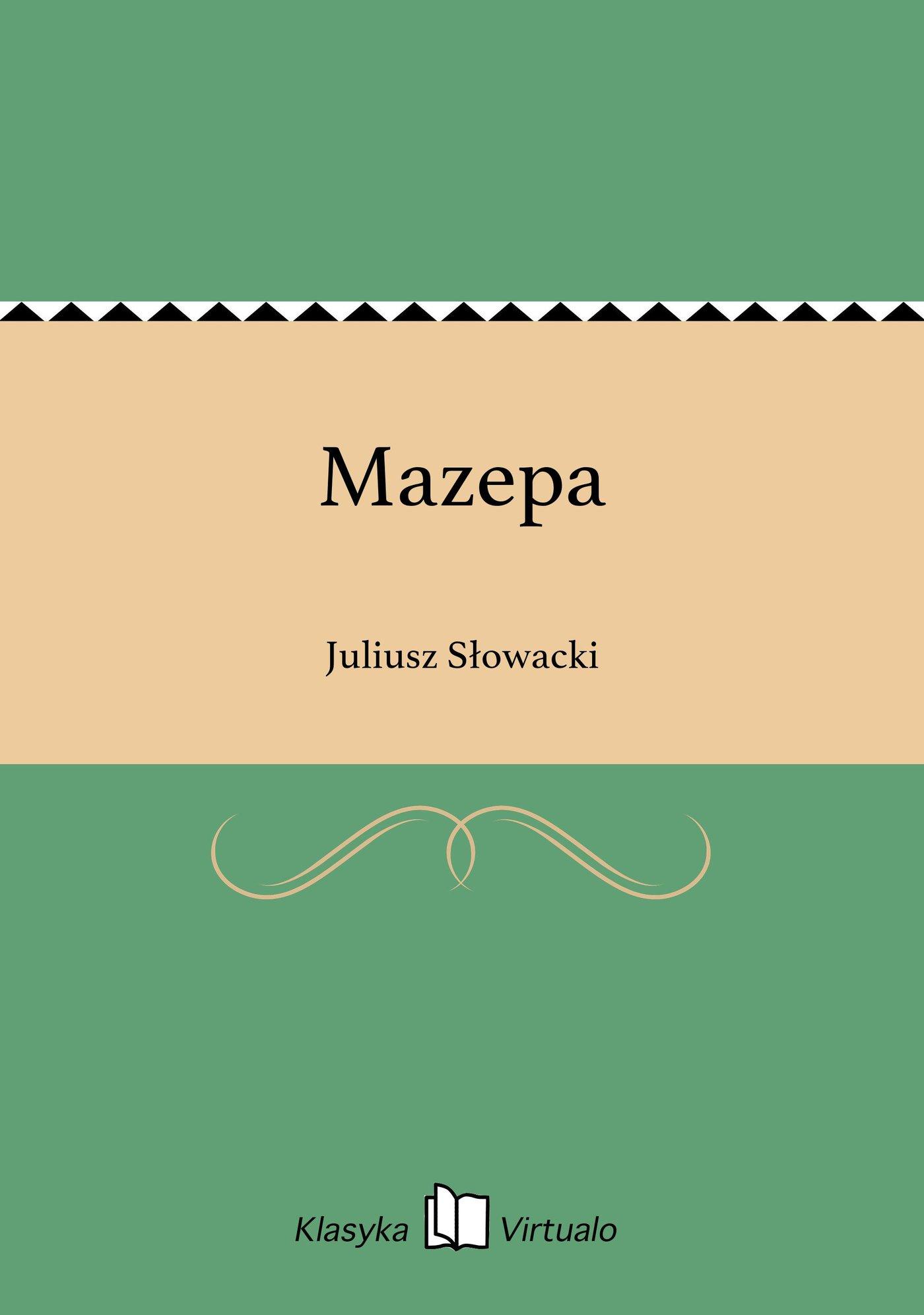 Mazepa - Ebook (Książka EPUB) do pobrania w formacie EPUB