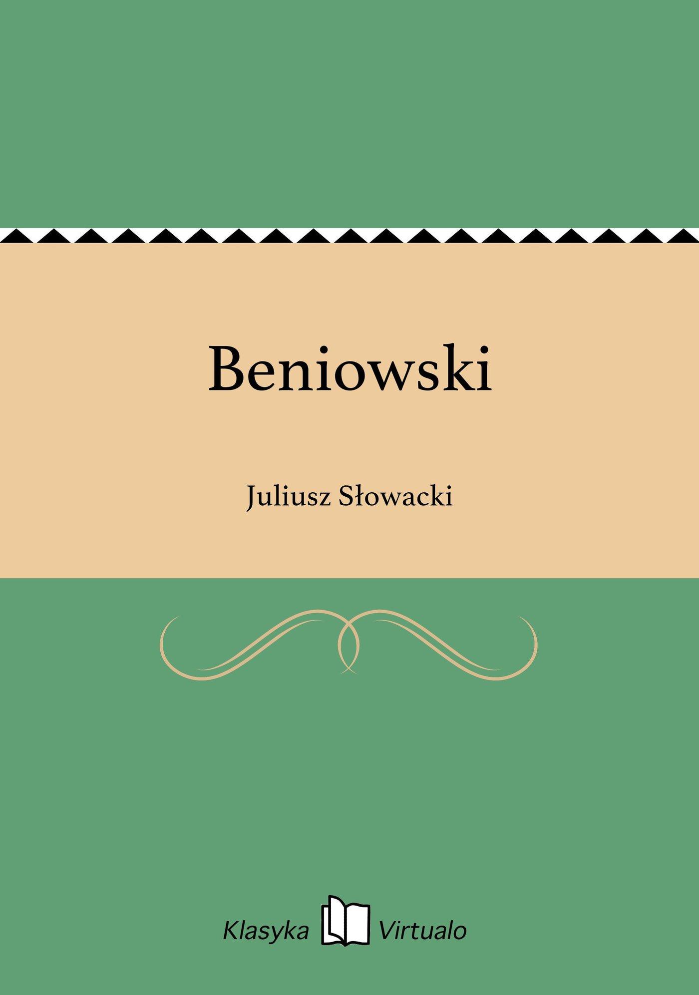 Beniowski - Ebook (Książka EPUB) do pobrania w formacie EPUB