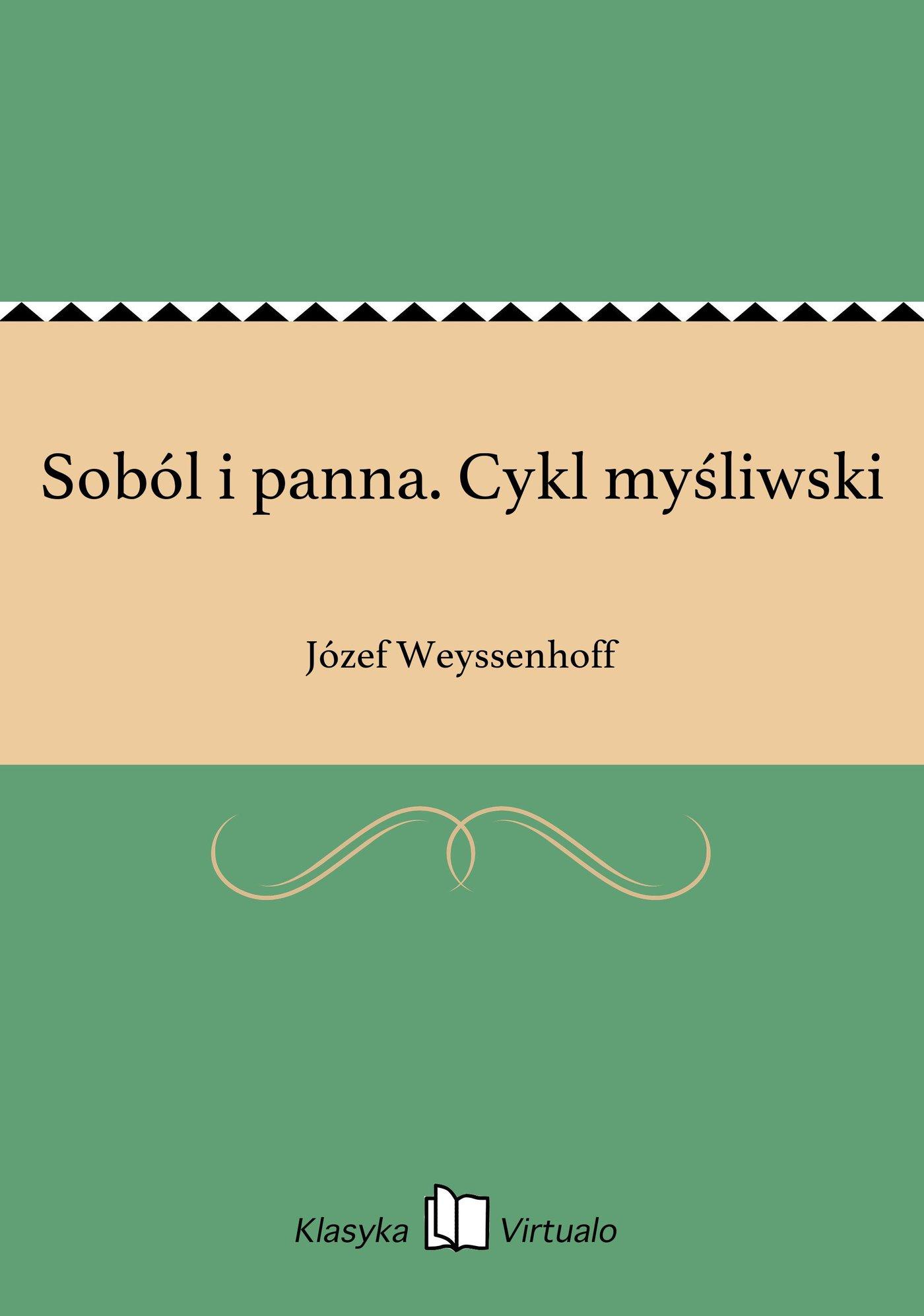 Soból i panna. Cykl myśliwski - Ebook (Książka EPUB) do pobrania w formacie EPUB