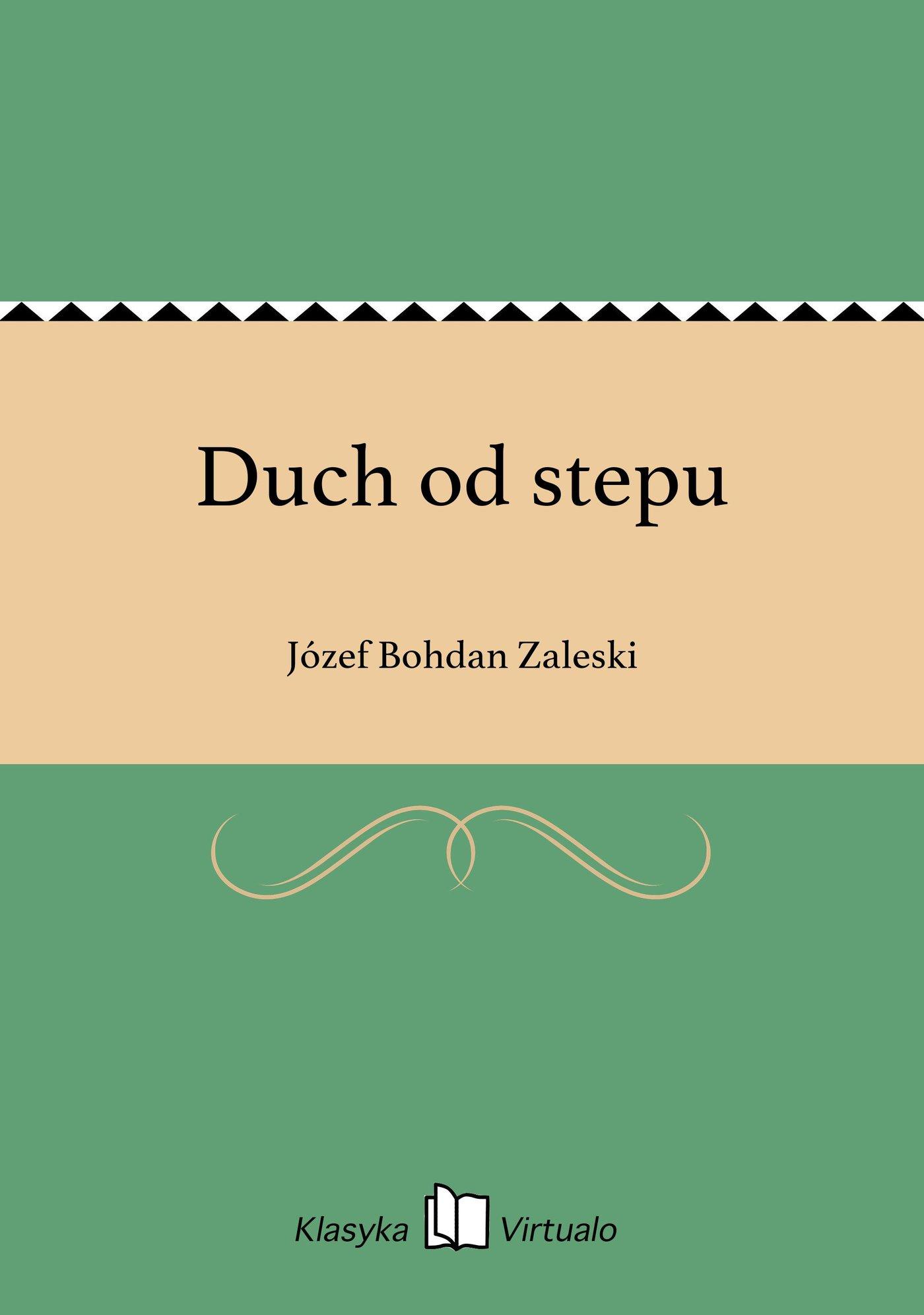 Duch od stepu - Ebook (Książka EPUB) do pobrania w formacie EPUB