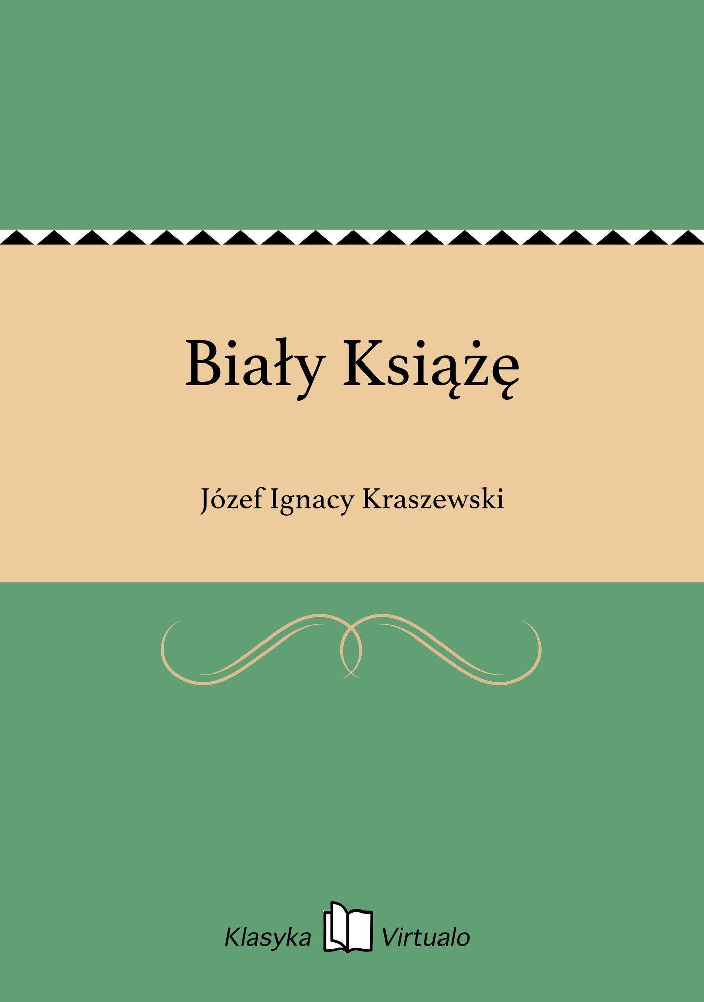 Biały Książę - Ebook (Książka EPUB) do pobrania w formacie EPUB