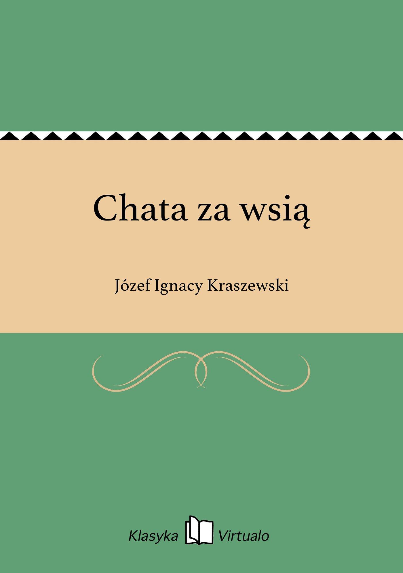 Chata za wsią - Ebook (Książka EPUB) do pobrania w formacie EPUB