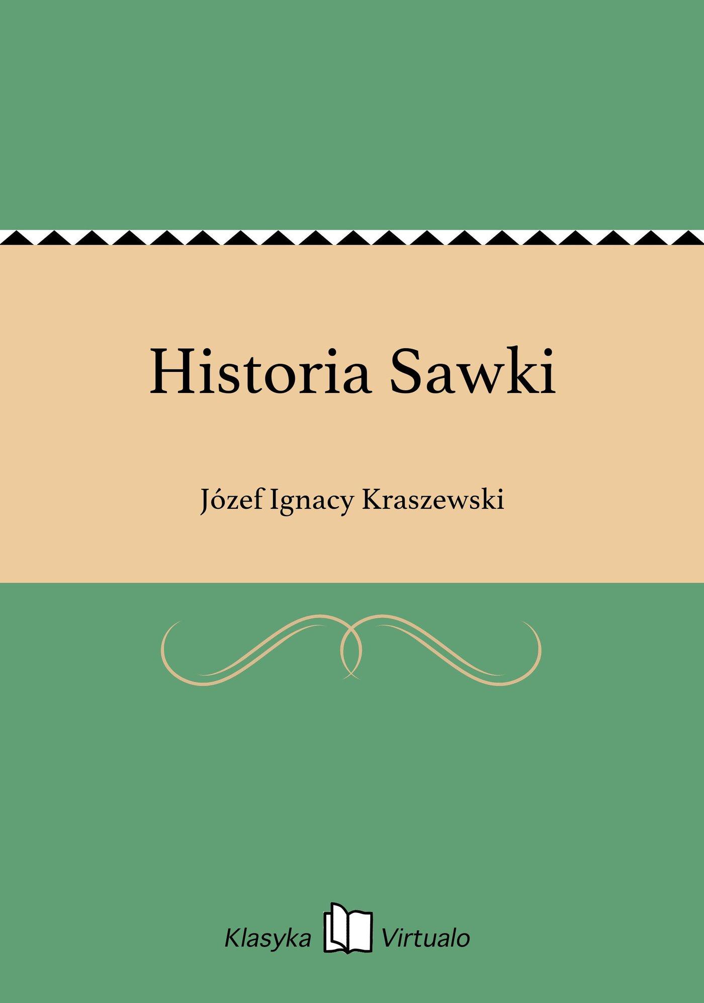 Historia Sawki - Ebook (Książka EPUB) do pobrania w formacie EPUB