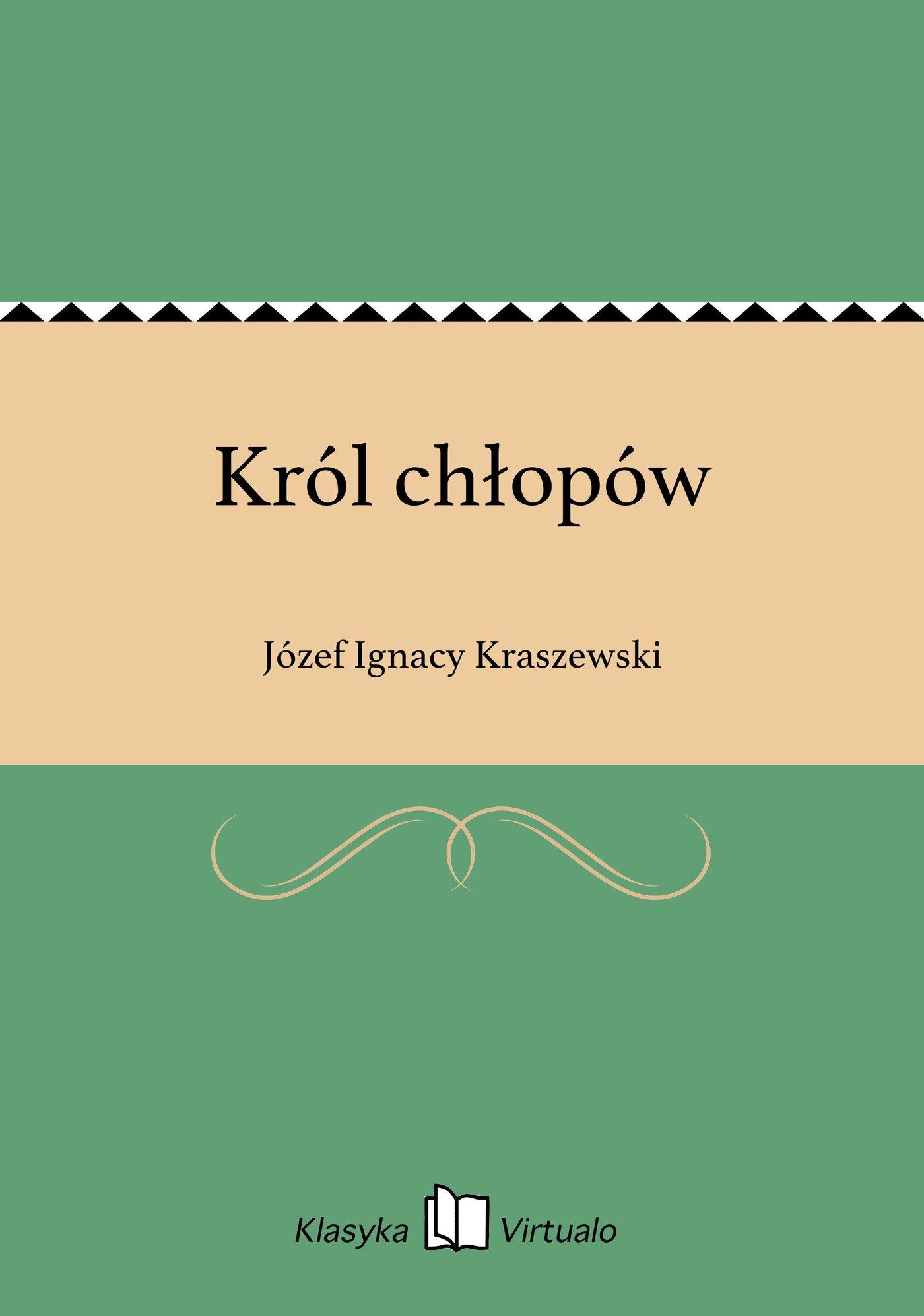 Król chłopów - Ebook (Książka EPUB) do pobrania w formacie EPUB