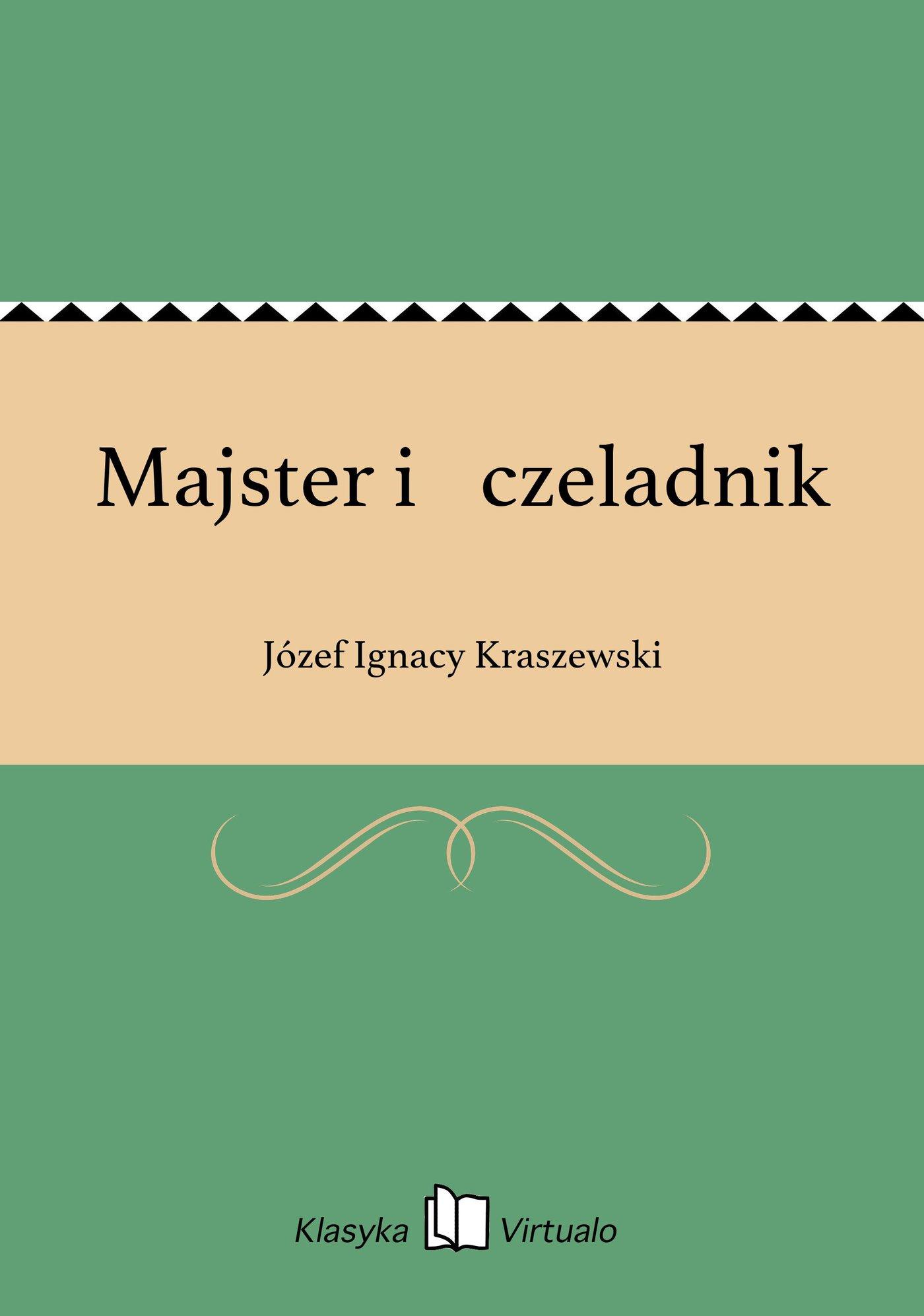 Majster i czeladnik - Ebook (Książka EPUB) do pobrania w formacie EPUB