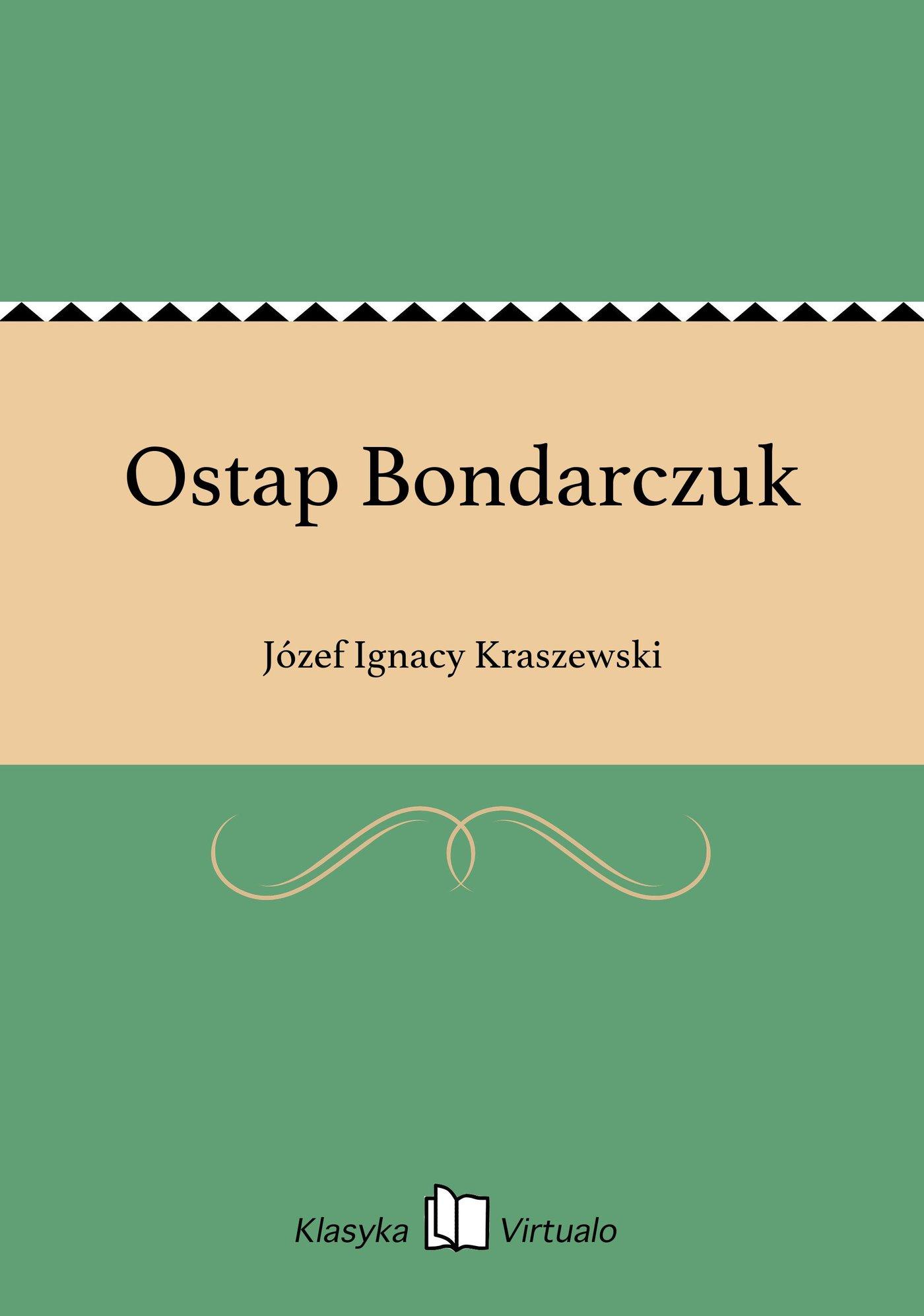 Ostap Bondarczuk - Ebook (Książka EPUB) do pobrania w formacie EPUB