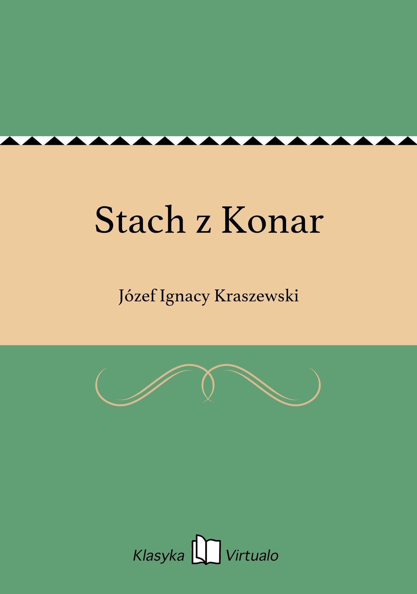 Stach z Konar - Ebook (Książka EPUB) do pobrania w formacie EPUB