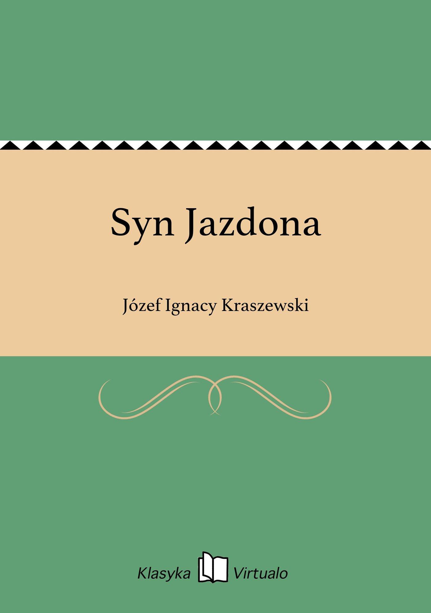 Syn Jazdona - Ebook (Książka EPUB) do pobrania w formacie EPUB