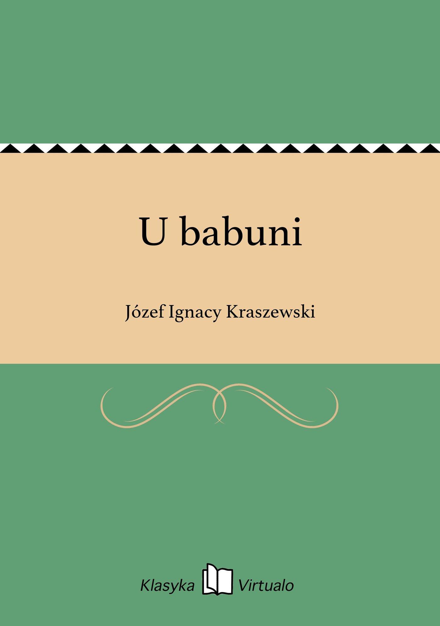 U babuni - Ebook (Książka EPUB) do pobrania w formacie EPUB