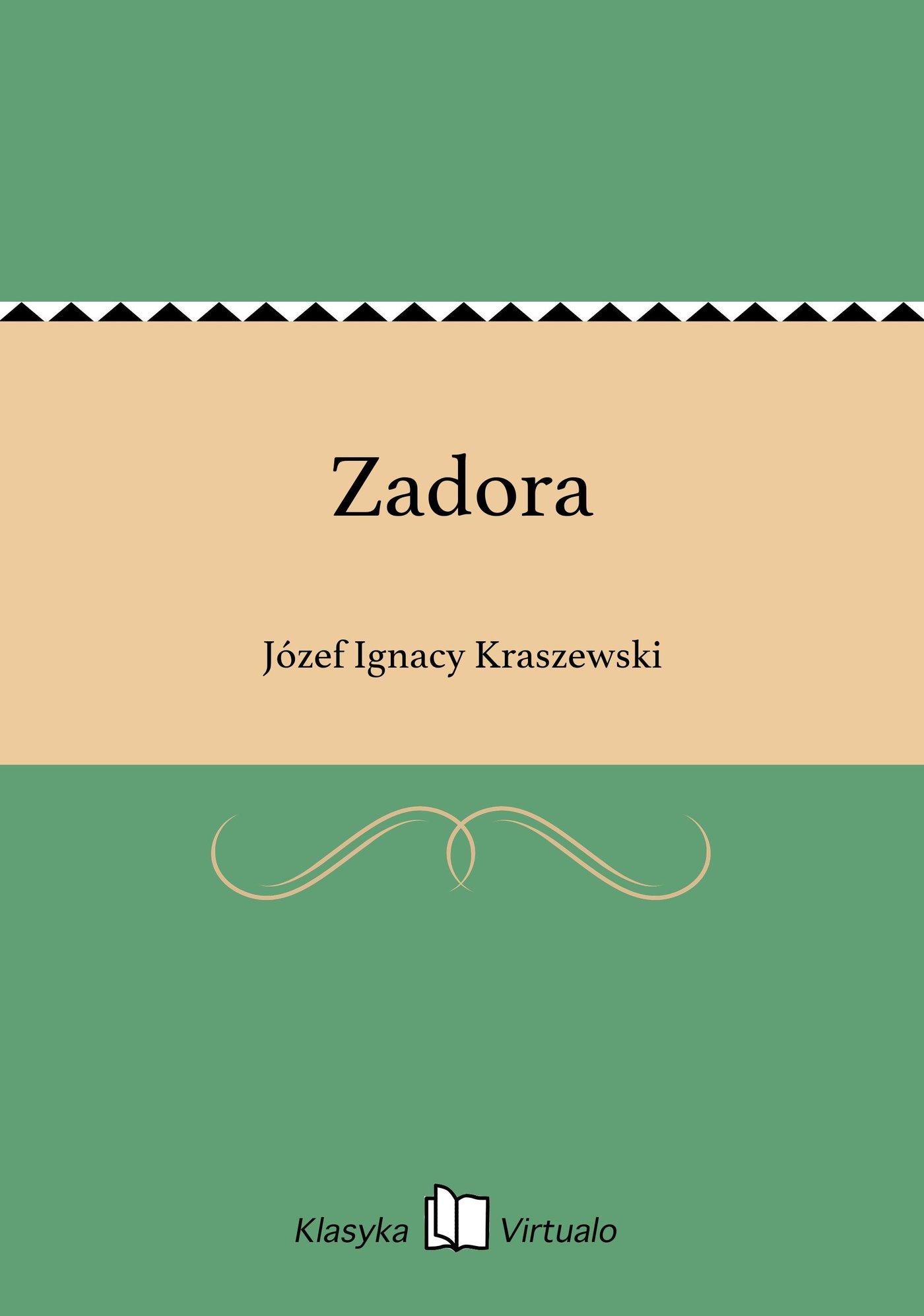Zadora - Ebook (Książka EPUB) do pobrania w formacie EPUB