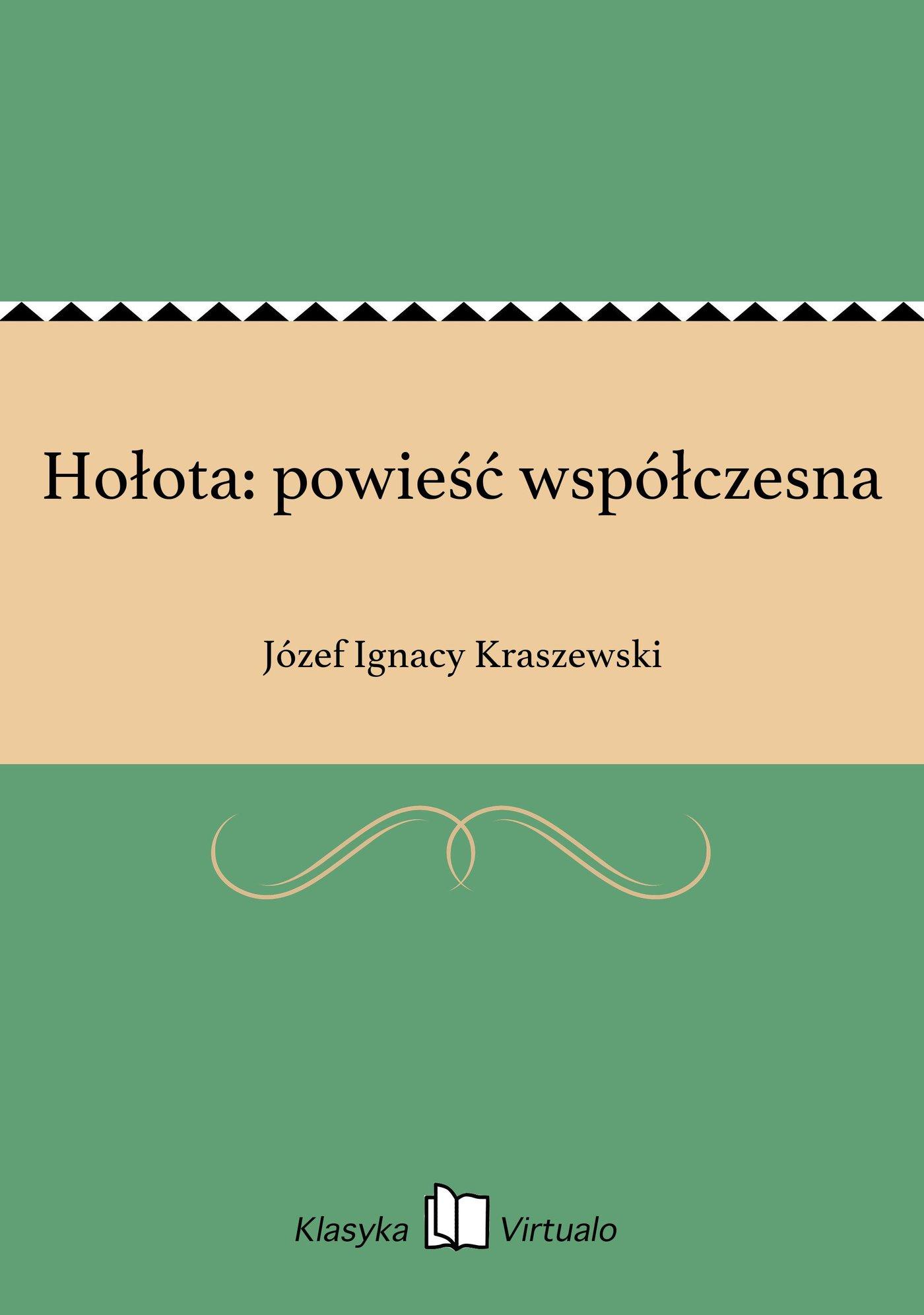 Hołota: powieść współczesna - Ebook (Książka EPUB) do pobrania w formacie EPUB