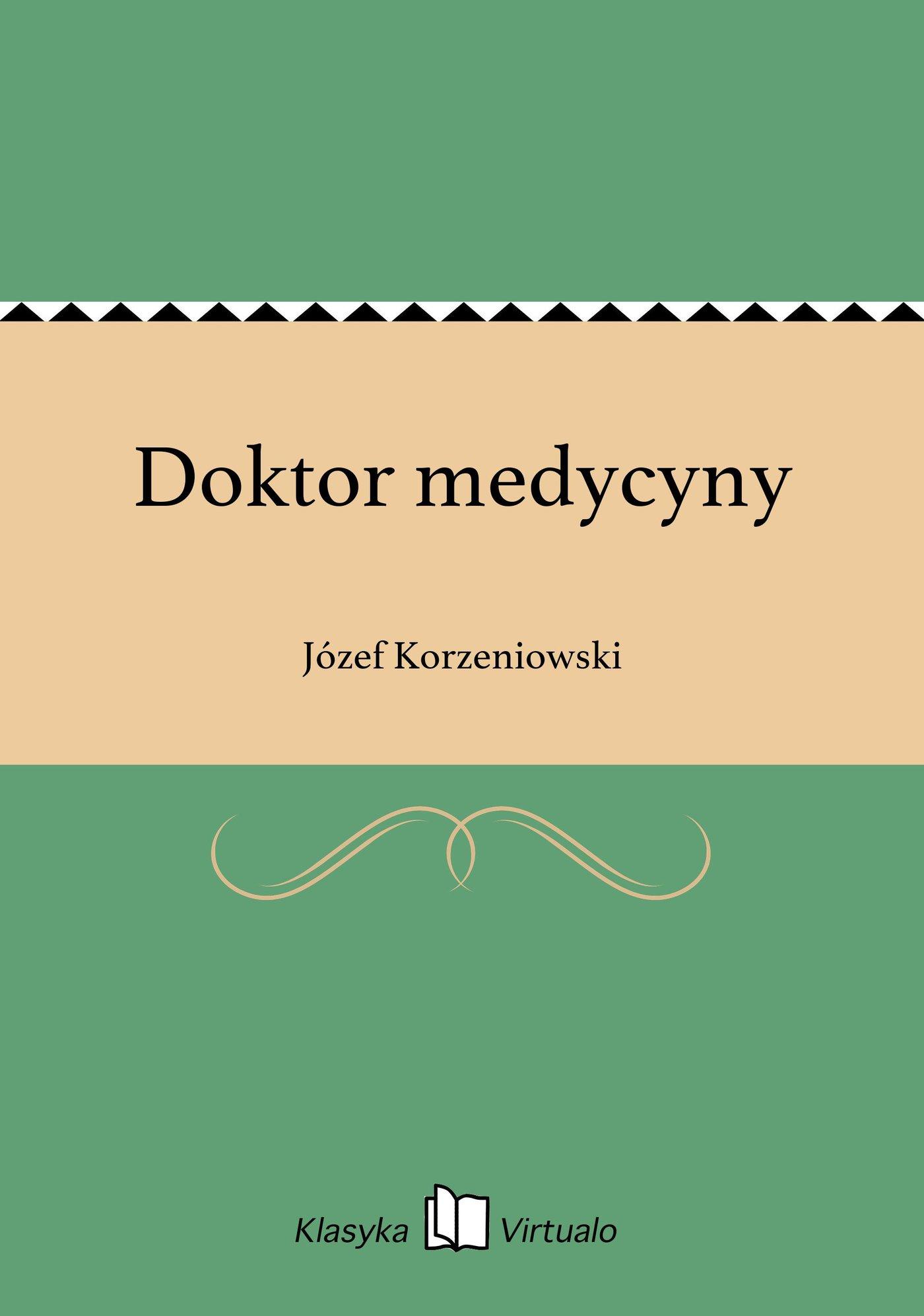 Doktor medycyny - Ebook (Książka EPUB) do pobrania w formacie EPUB