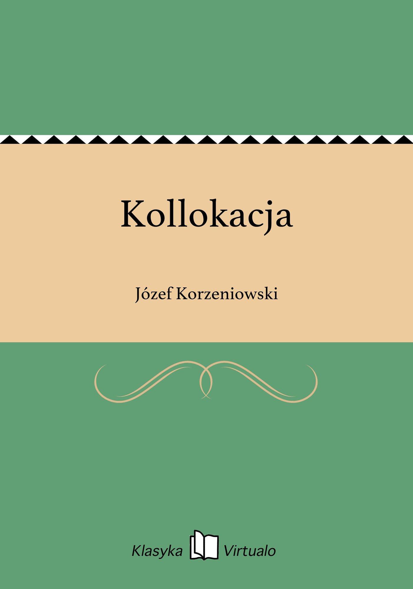 Kollokacja - Ebook (Książka EPUB) do pobrania w formacie EPUB