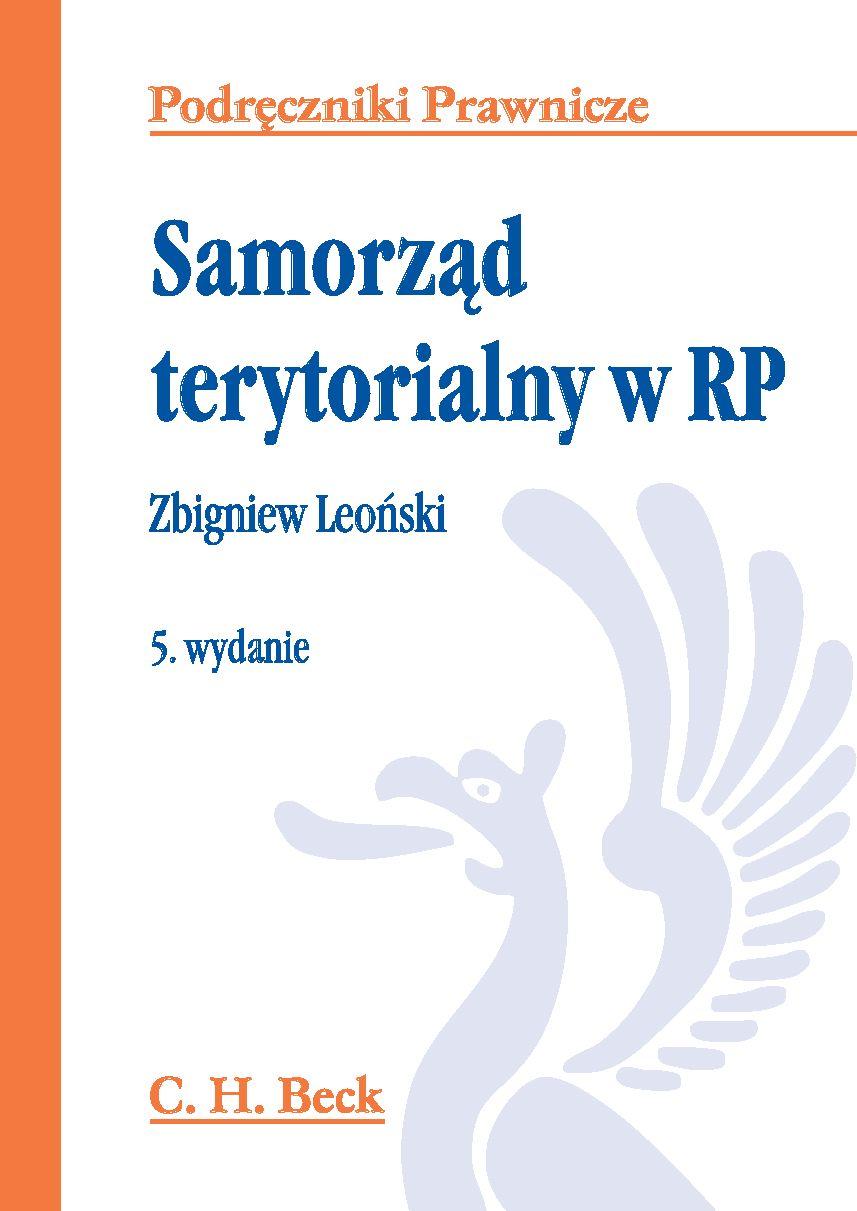 Samorząd terytorialny w RP - Ebook (Książka PDF) do pobrania w formacie PDF