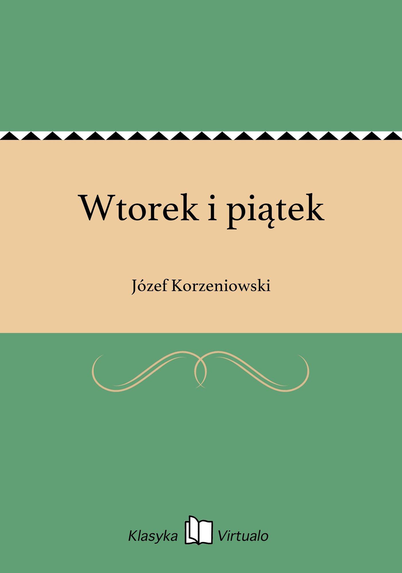 Wtorek i piątek - Ebook (Książka EPUB) do pobrania w formacie EPUB