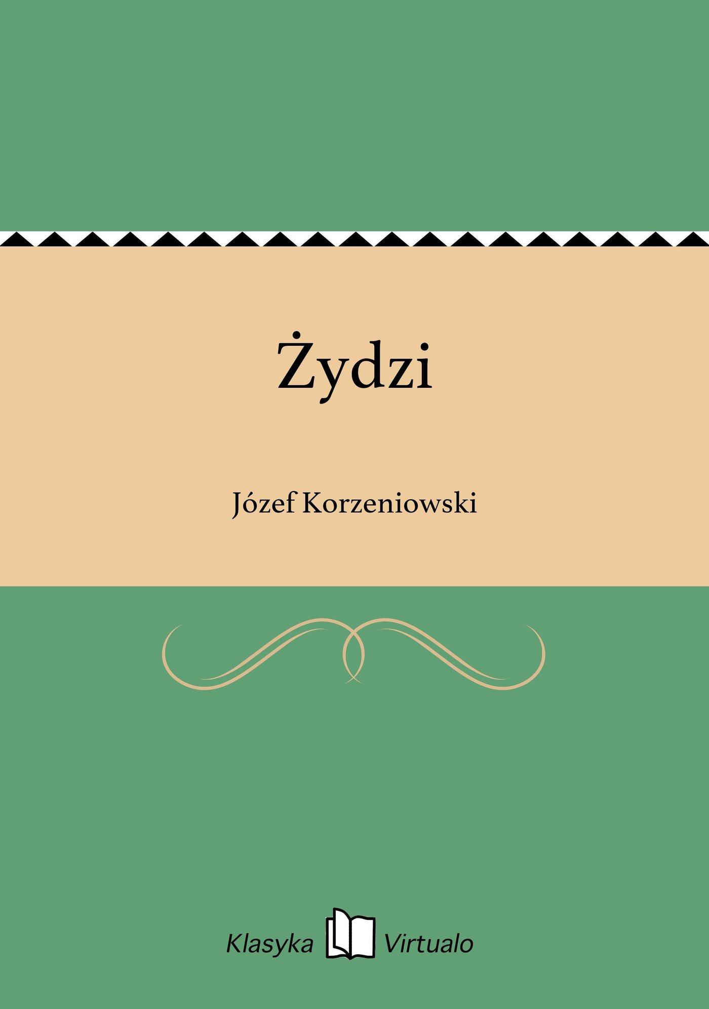 Żydzi - Ebook (Książka EPUB) do pobrania w formacie EPUB