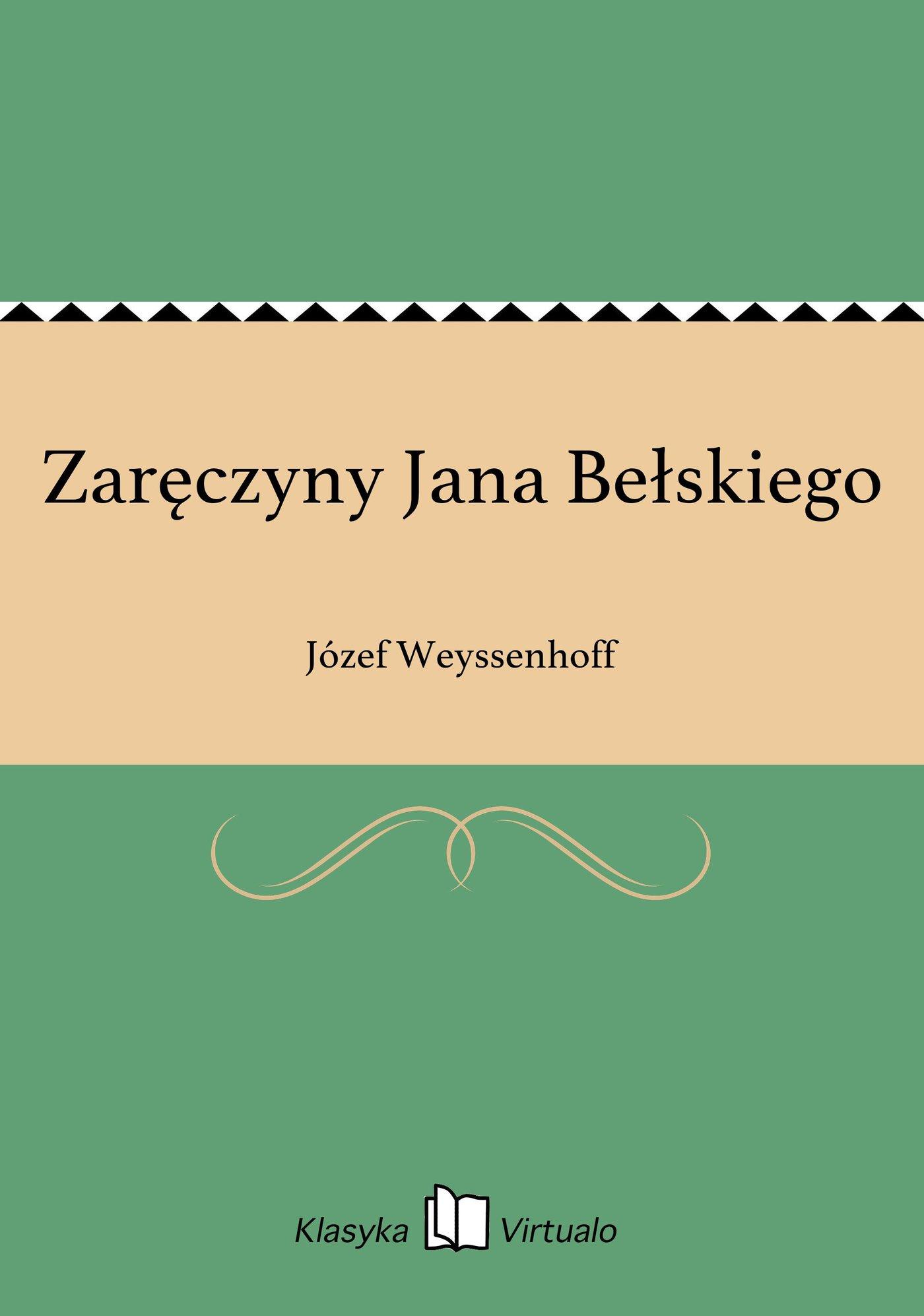 Zaręczyny Jana Bełskiego - Ebook (Książka EPUB) do pobrania w formacie EPUB
