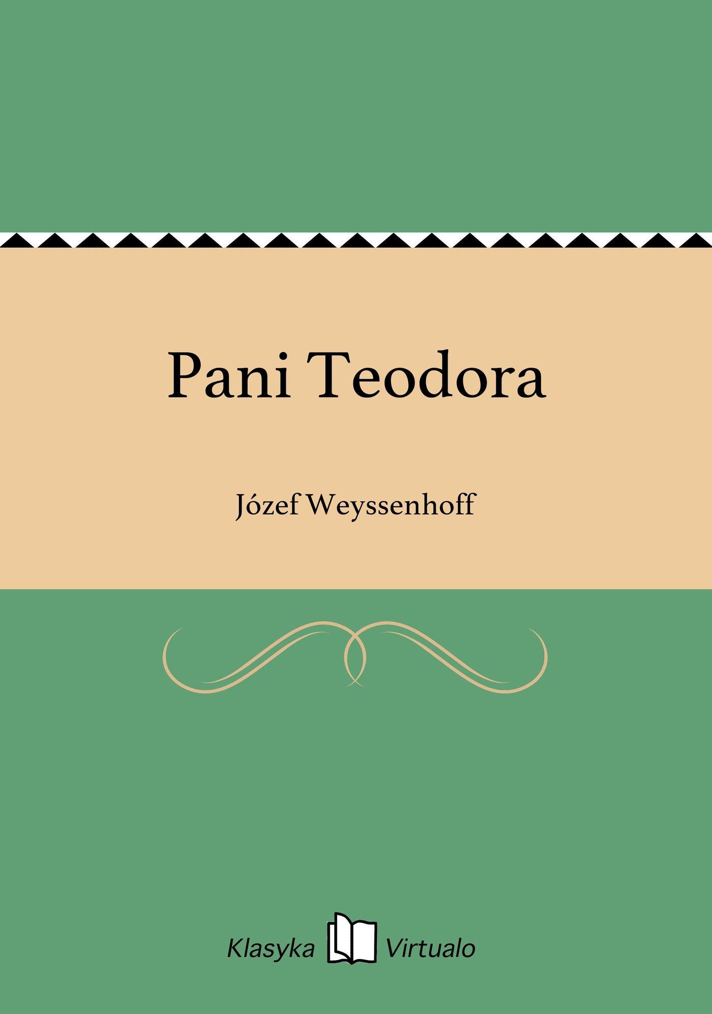 Pani Teodora - Ebook (Książka EPUB) do pobrania w formacie EPUB
