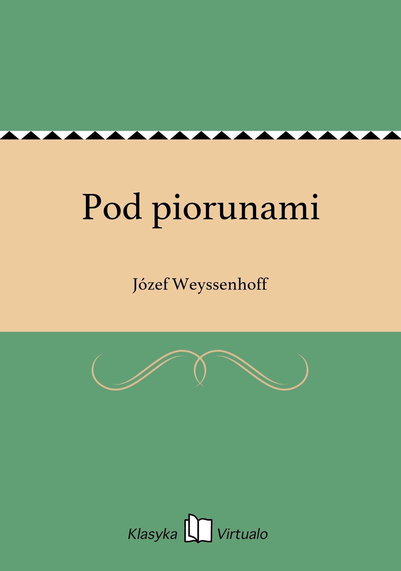Pod piorunami - Ebook (Książka EPUB) do pobrania w formacie EPUB