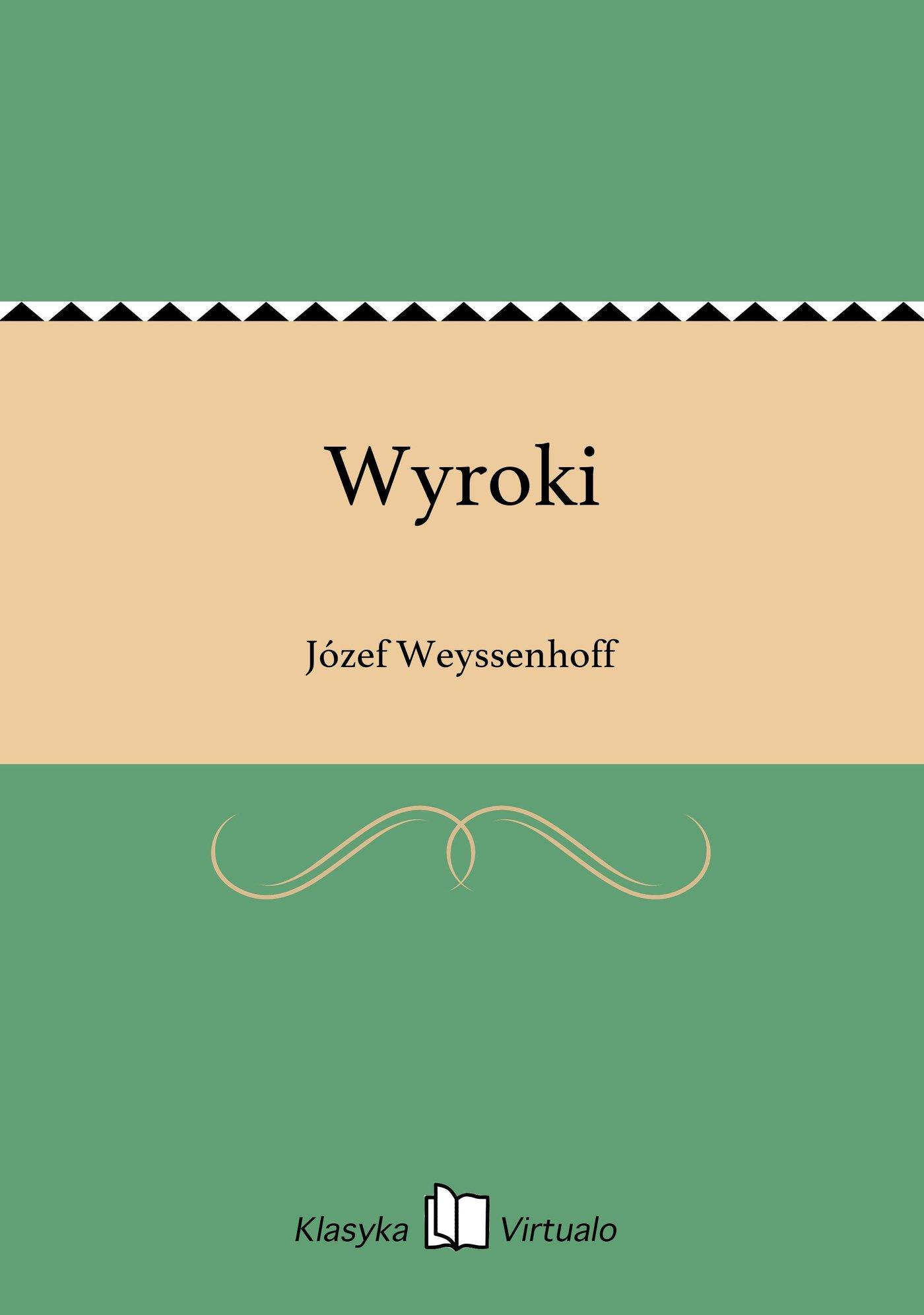 Wyroki - Ebook (Książka EPUB) do pobrania w formacie EPUB