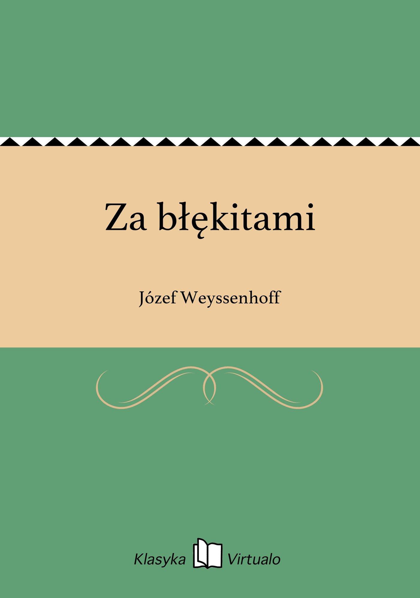 Za błękitami - Ebook (Książka EPUB) do pobrania w formacie EPUB