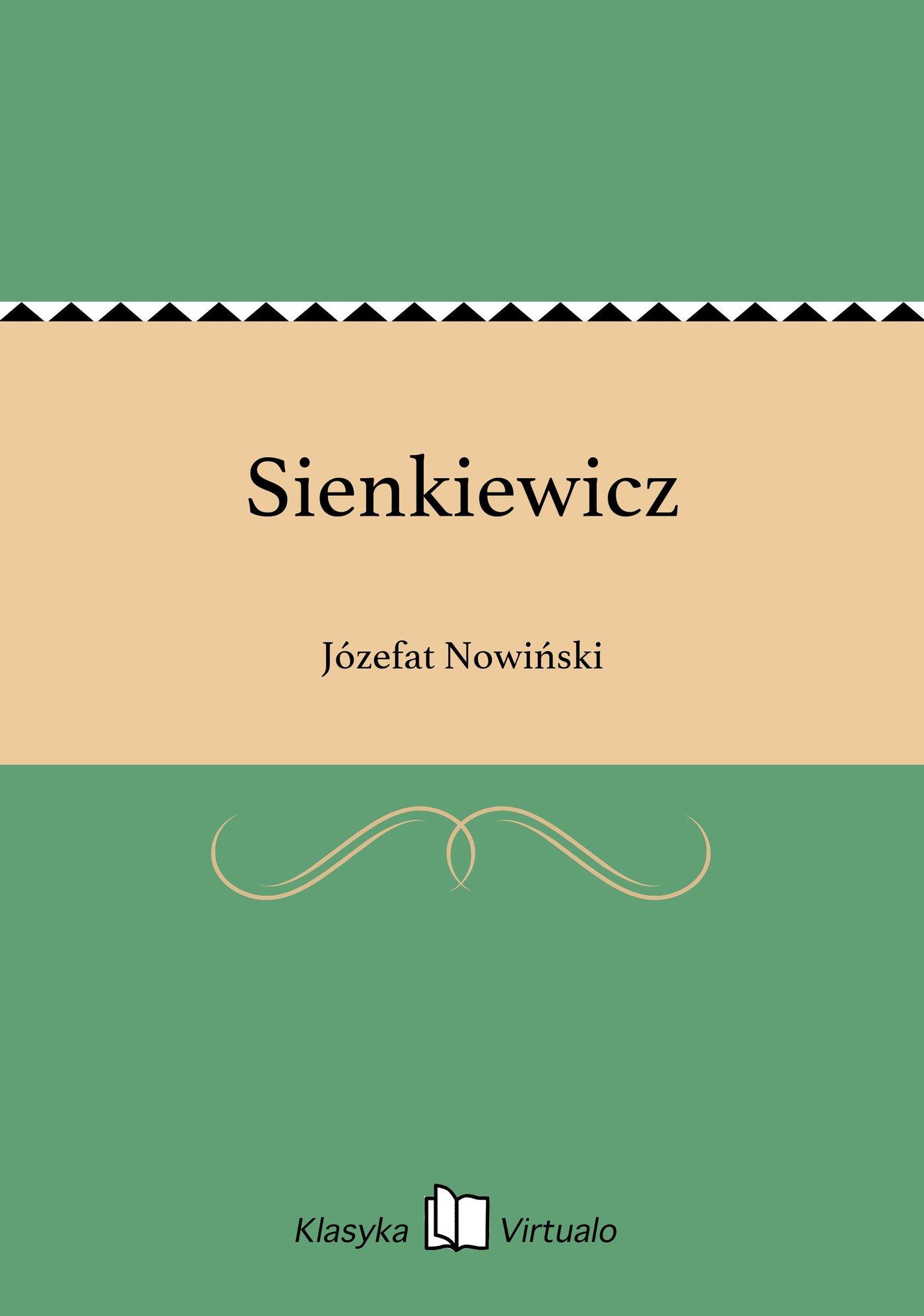 Sienkiewicz - Ebook (Książka EPUB) do pobrania w formacie EPUB