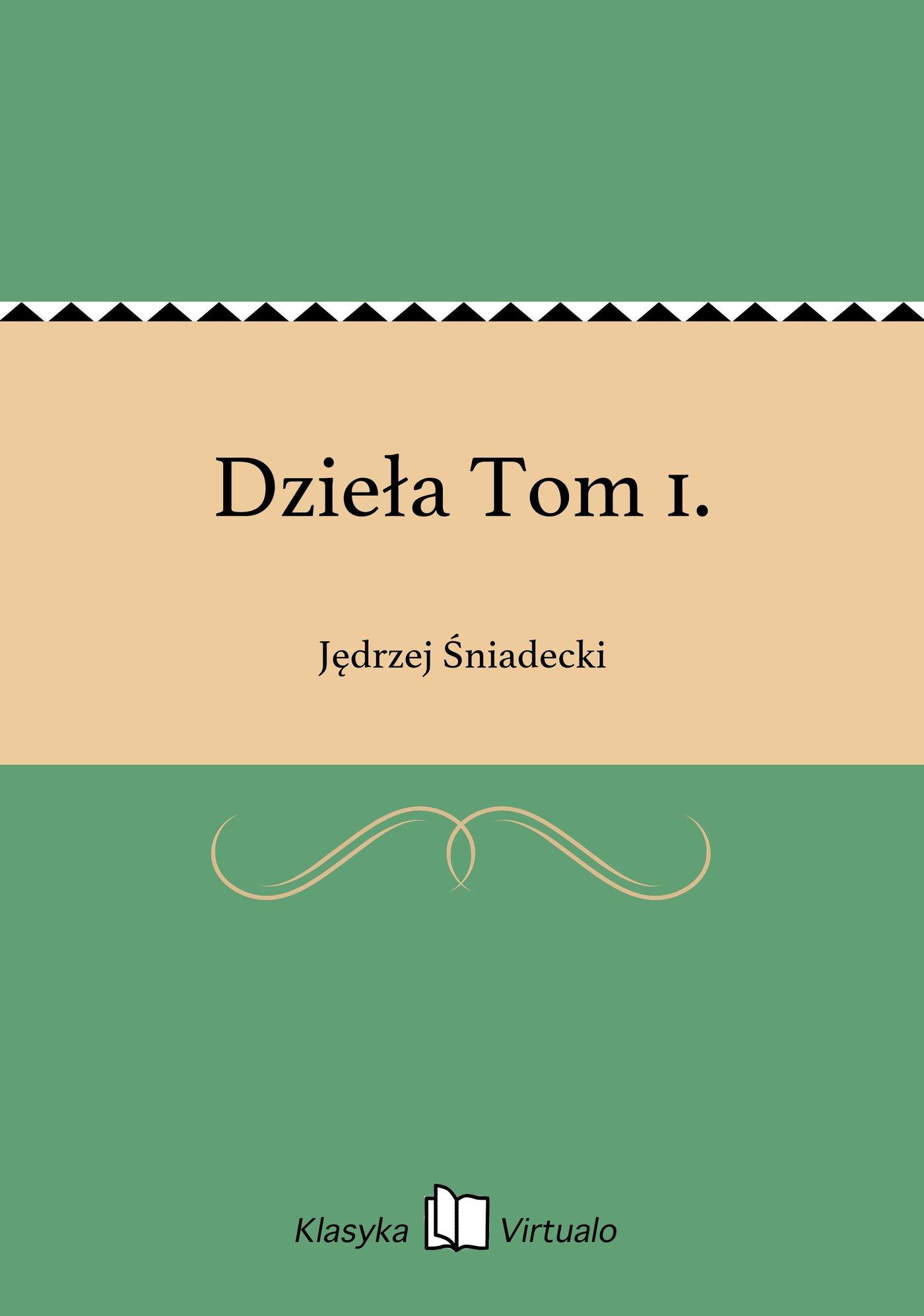 Dzieła Tom 1. - Ebook (Książka EPUB) do pobrania w formacie EPUB