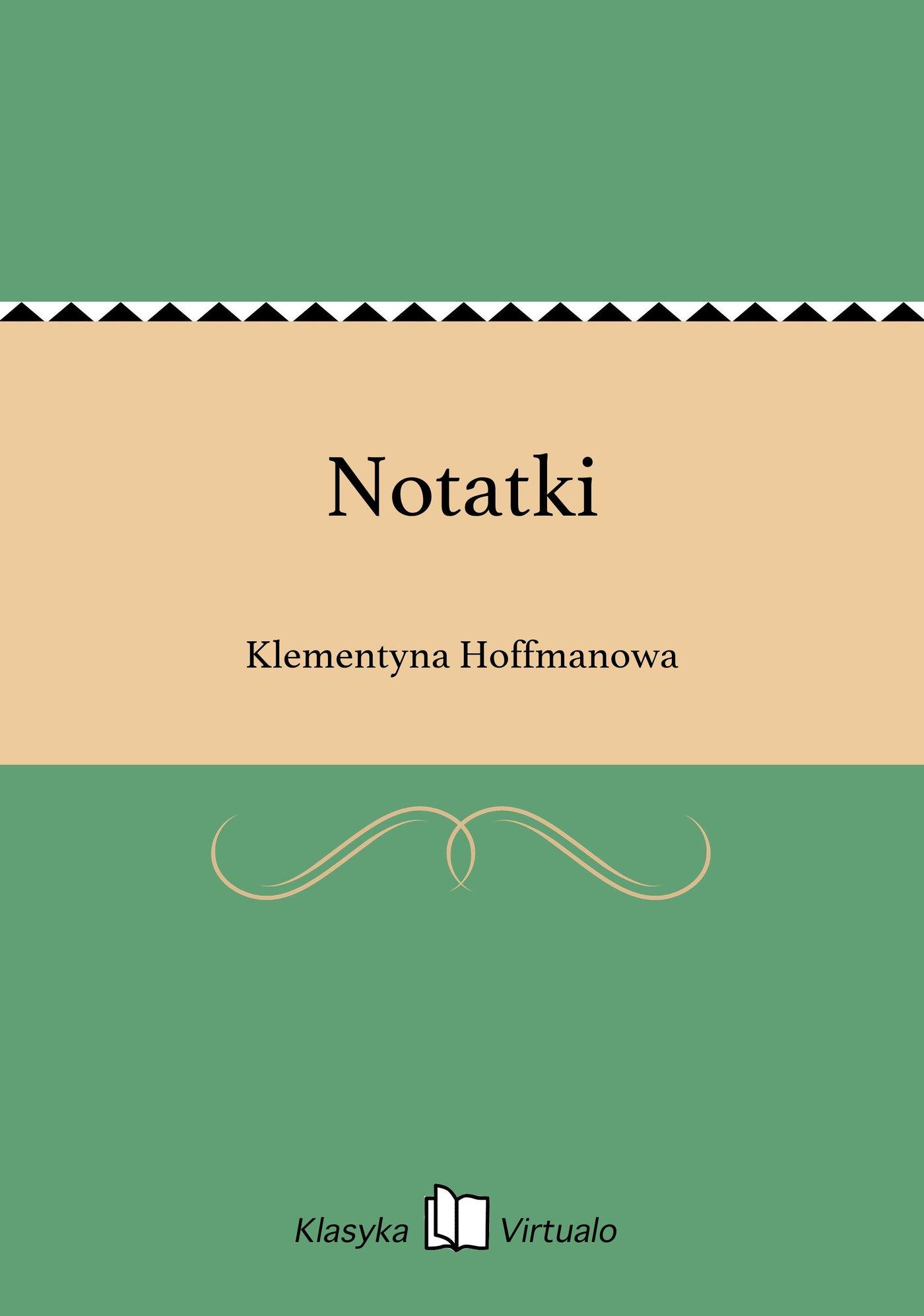 Notatki - Ebook (Książka EPUB) do pobrania w formacie EPUB