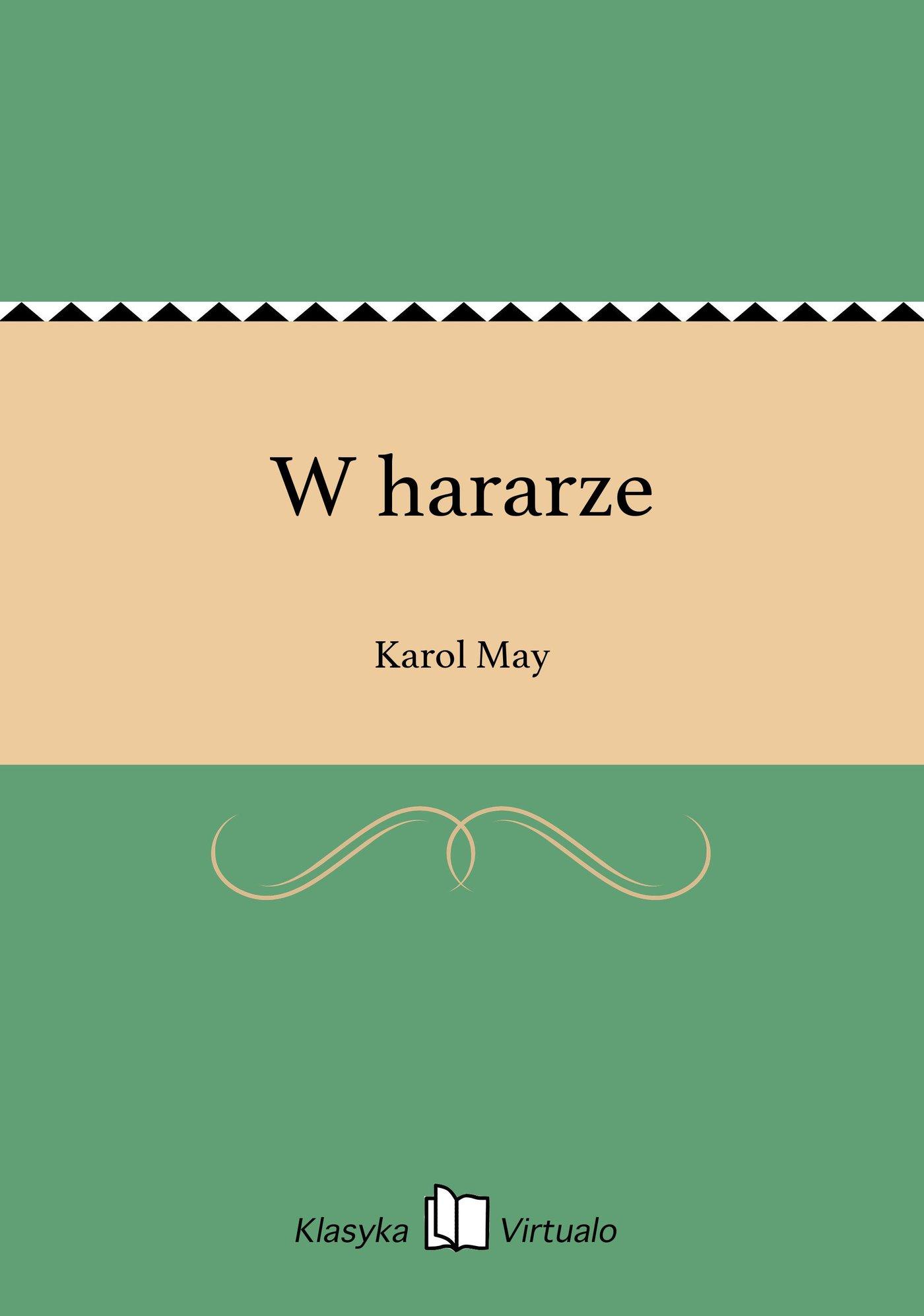 W hararze - Ebook (Książka EPUB) do pobrania w formacie EPUB