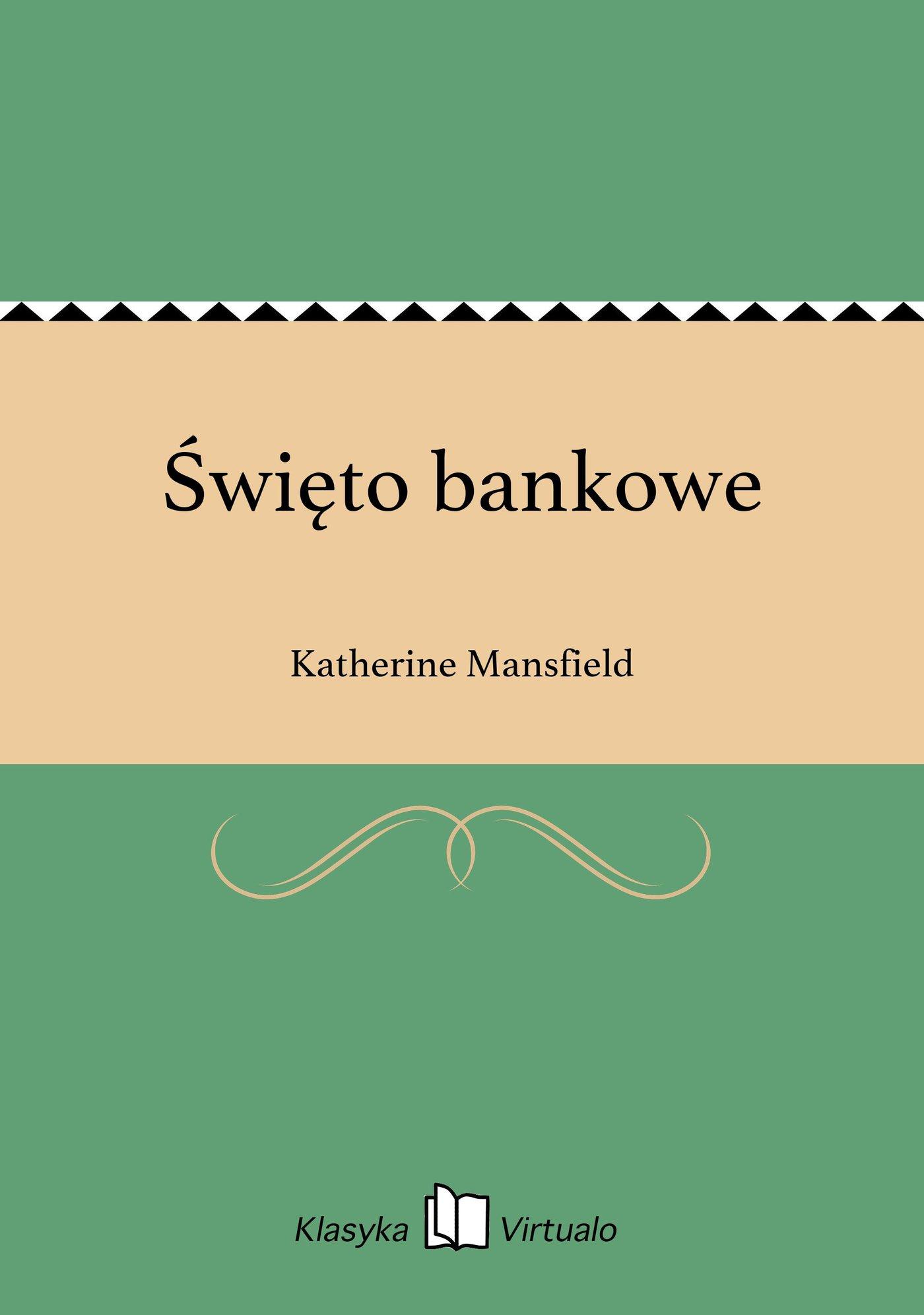 Święto bankowe - Ebook (Książka EPUB) do pobrania w formacie EPUB