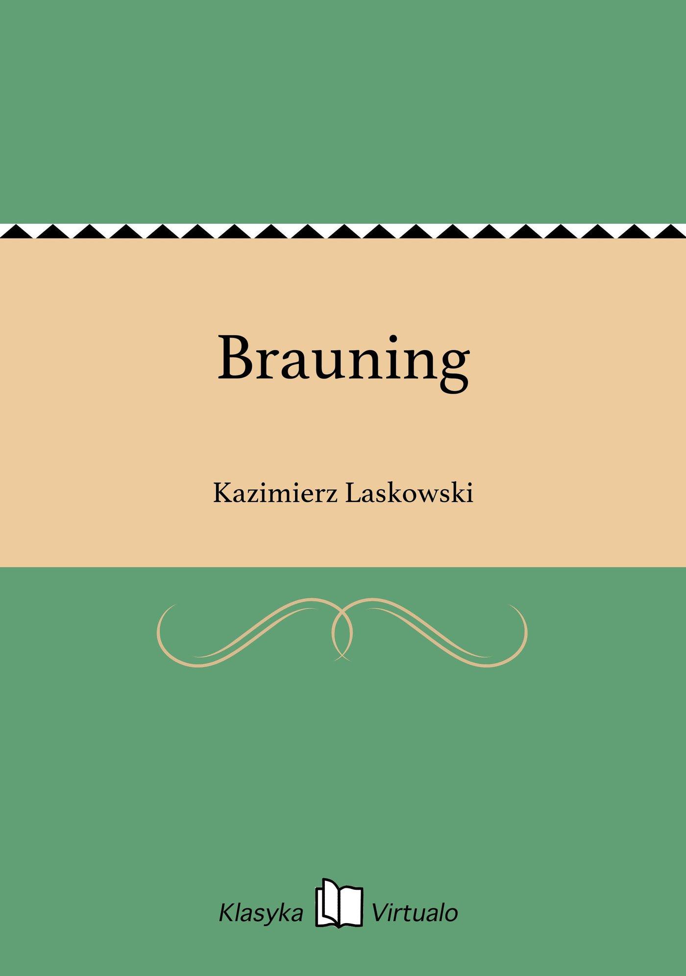 Brauning - Ebook (Książka EPUB) do pobrania w formacie EPUB