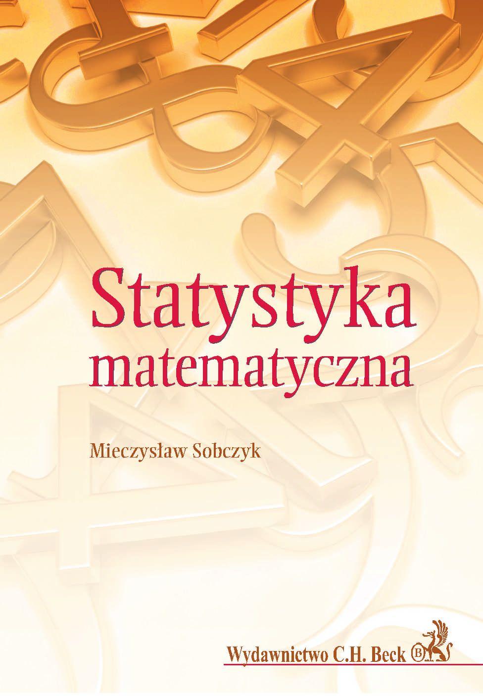 Statystyka matematyczna - Ebook (Książka PDF) do pobrania w formacie PDF