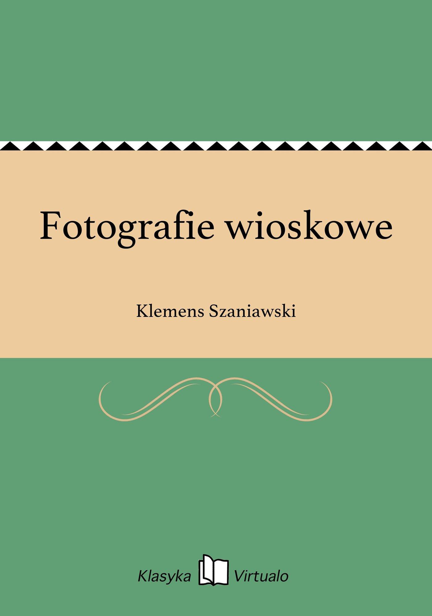 Fotografie wioskowe - Ebook (Książka EPUB) do pobrania w formacie EPUB