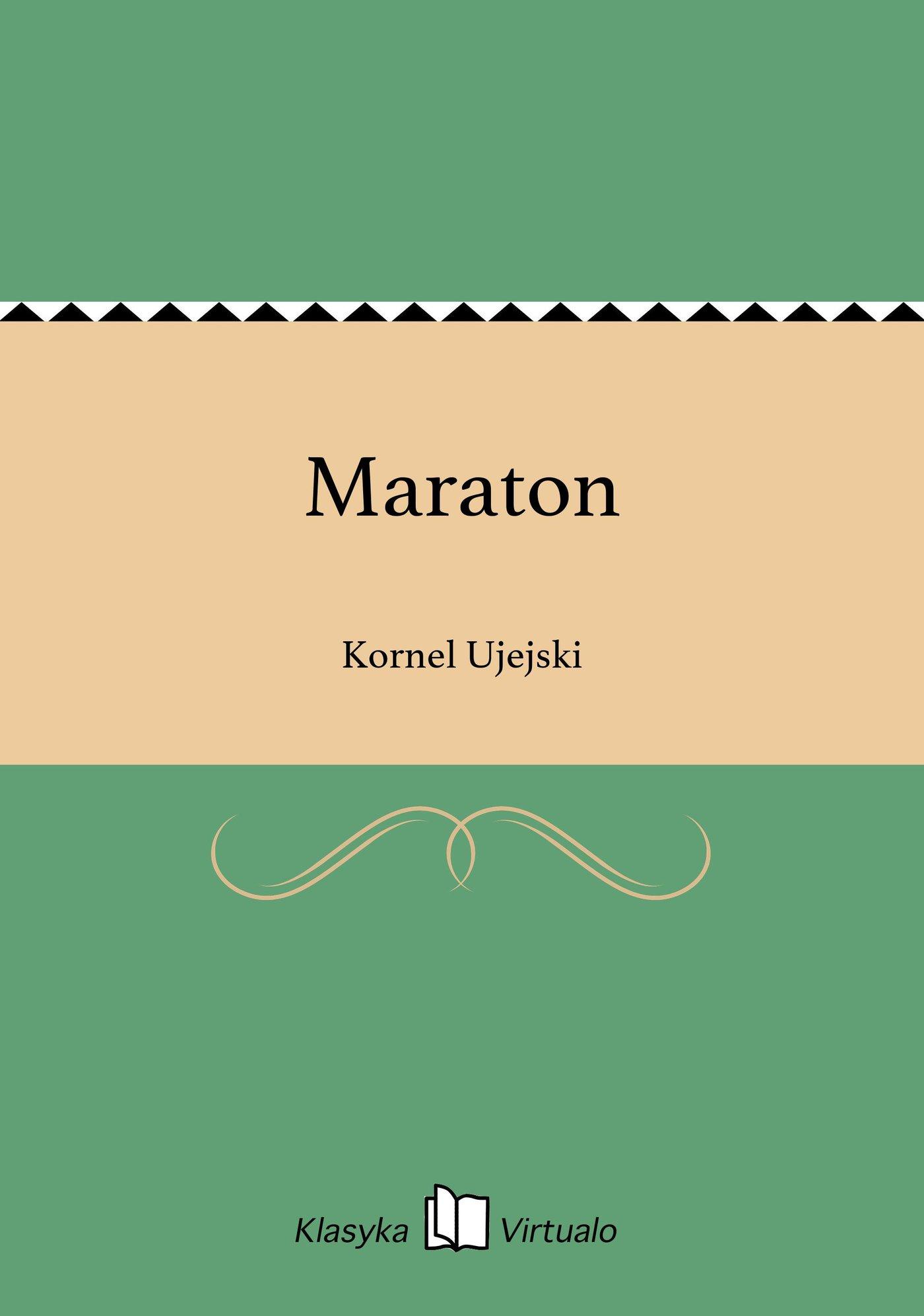 Maraton - Ebook (Książka EPUB) do pobrania w formacie EPUB