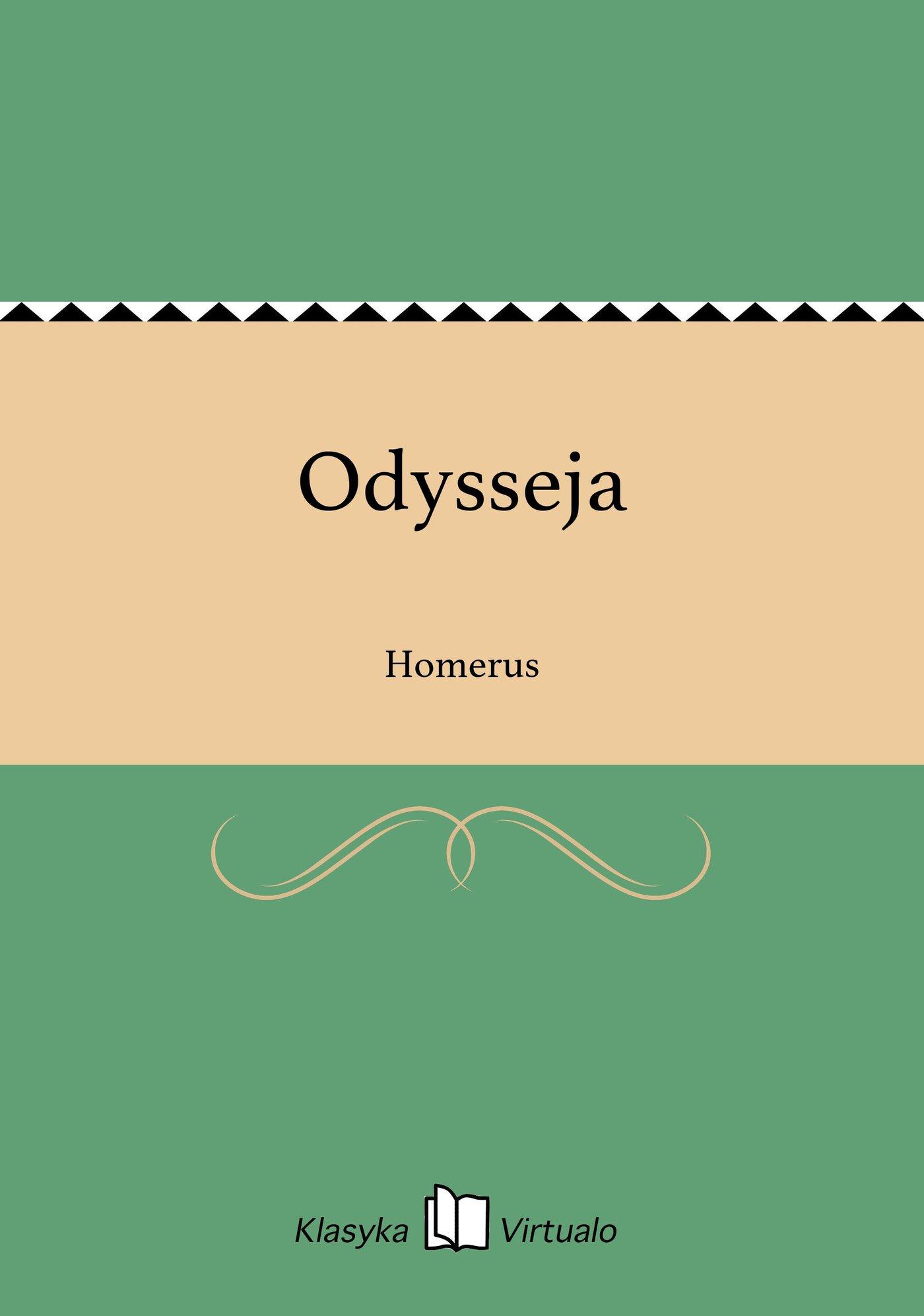 Odysseja - Ebook (Książka EPUB) do pobrania w formacie EPUB