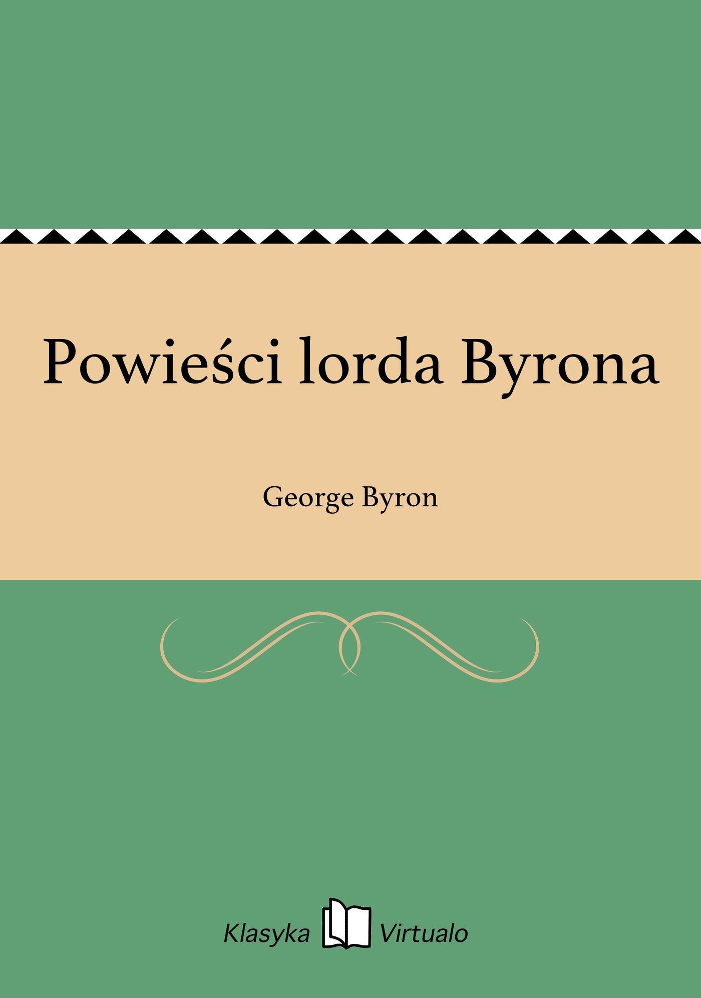 Powieści lorda Byrona - Ebook (Książka EPUB) do pobrania w formacie EPUB