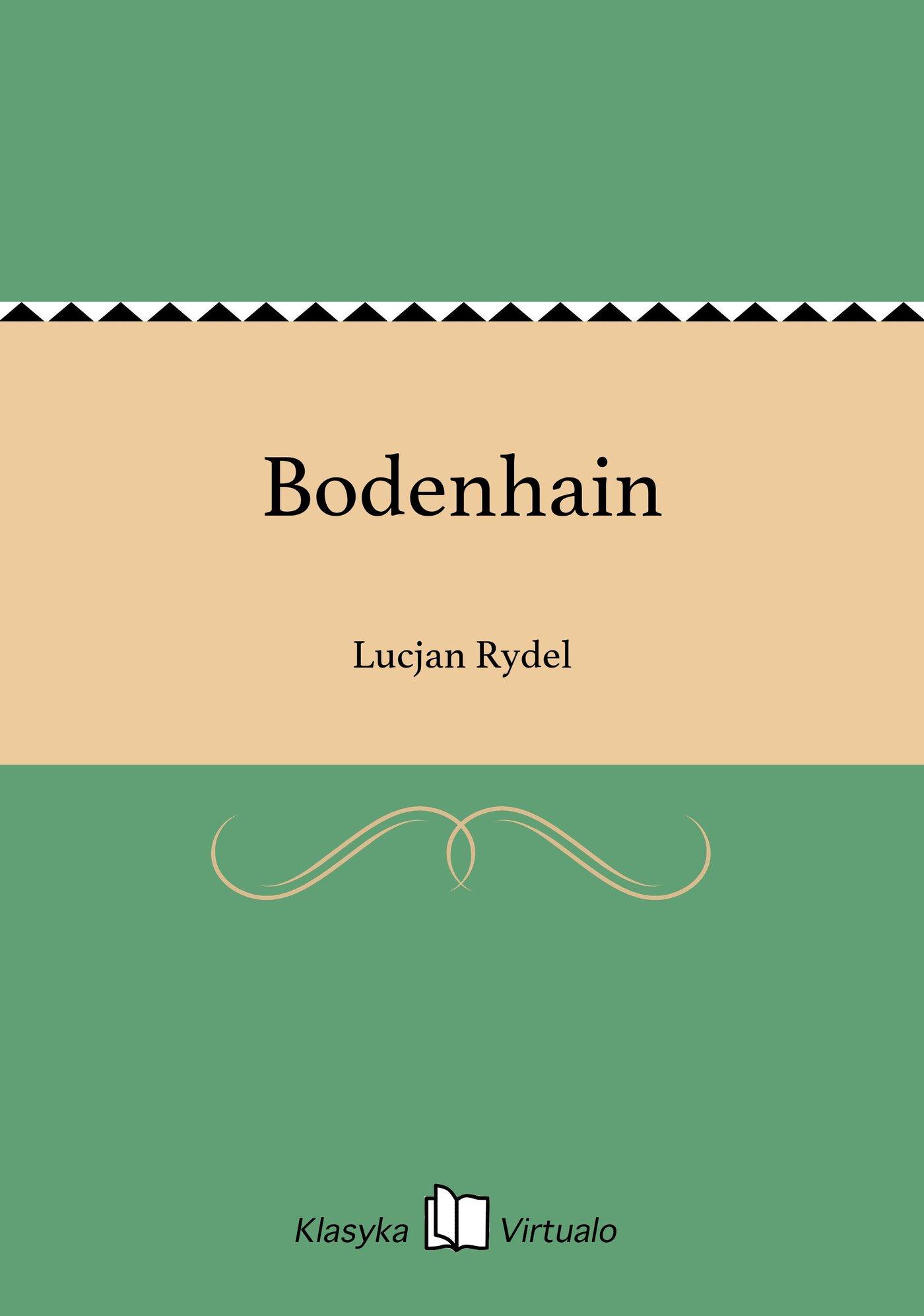 Bodenhain - Ebook (Książka EPUB) do pobrania w formacie EPUB